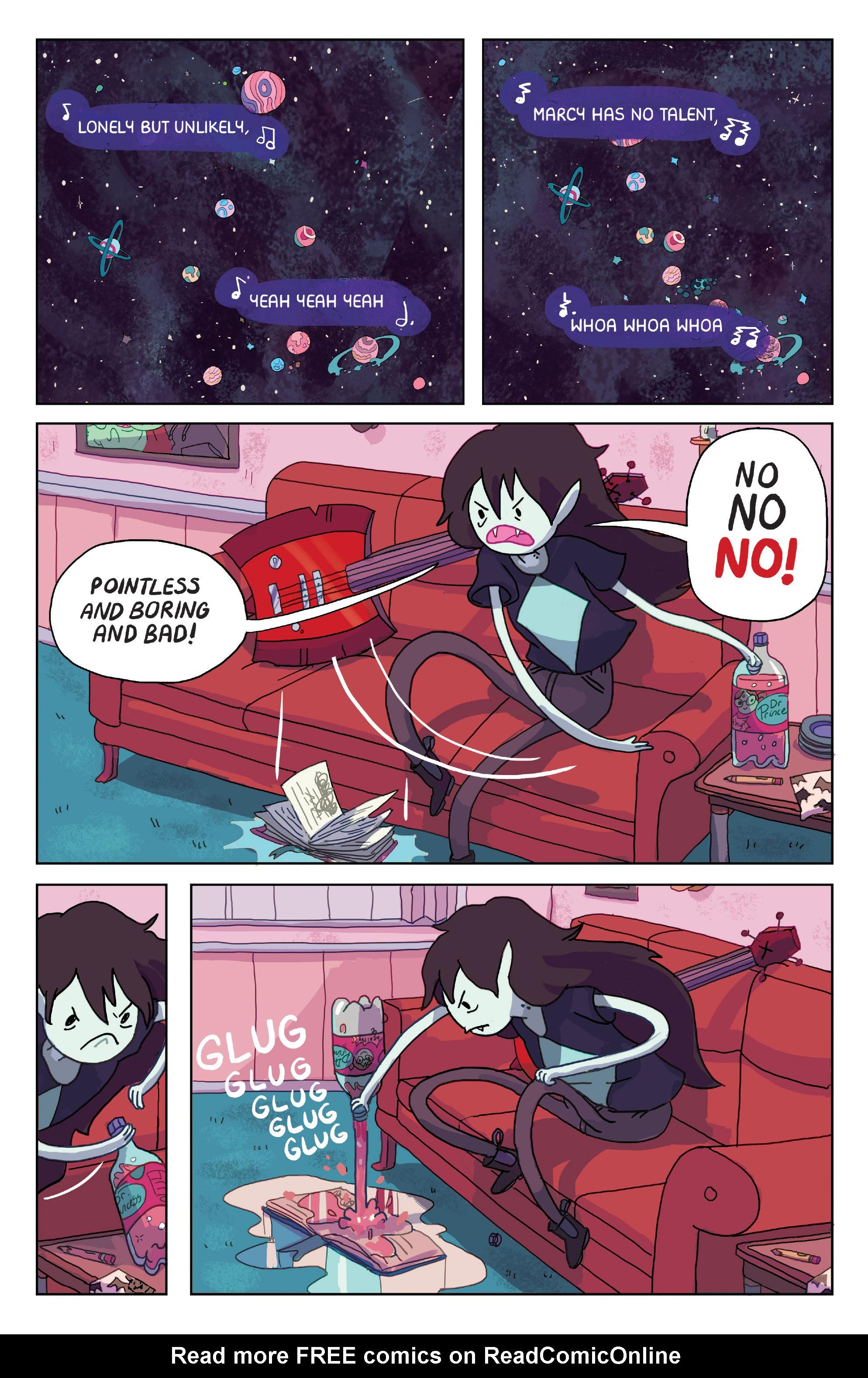 Read online Adventure Time: Marceline Gone Adrift comic -  Issue #1 - 4