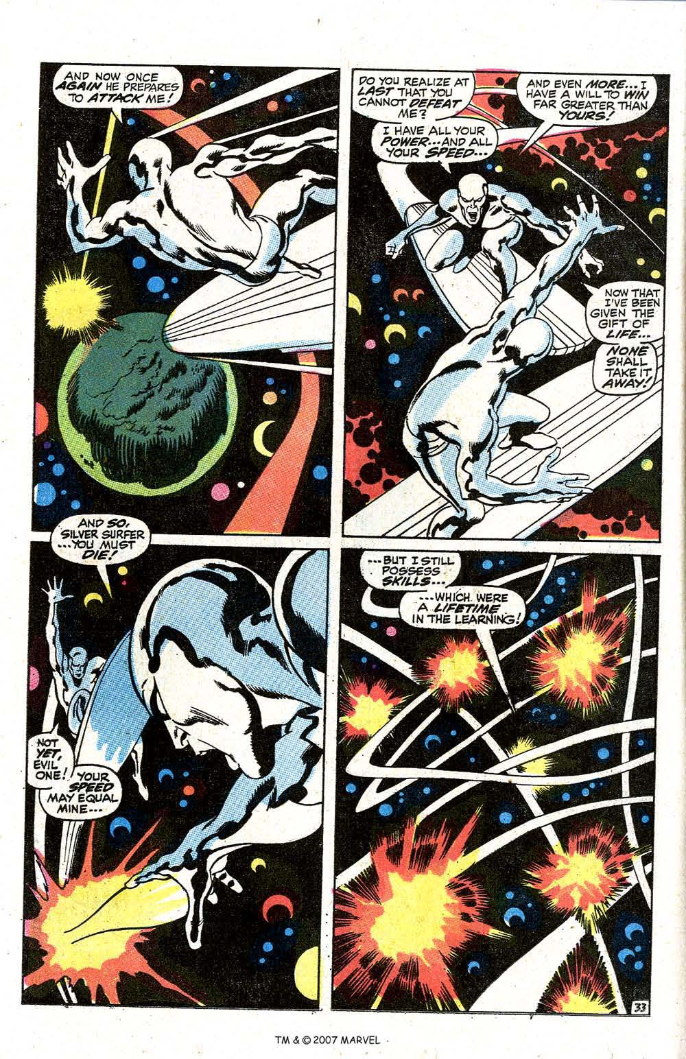 Read online Silver Surfer (1968) comic -  Issue #7 - 40