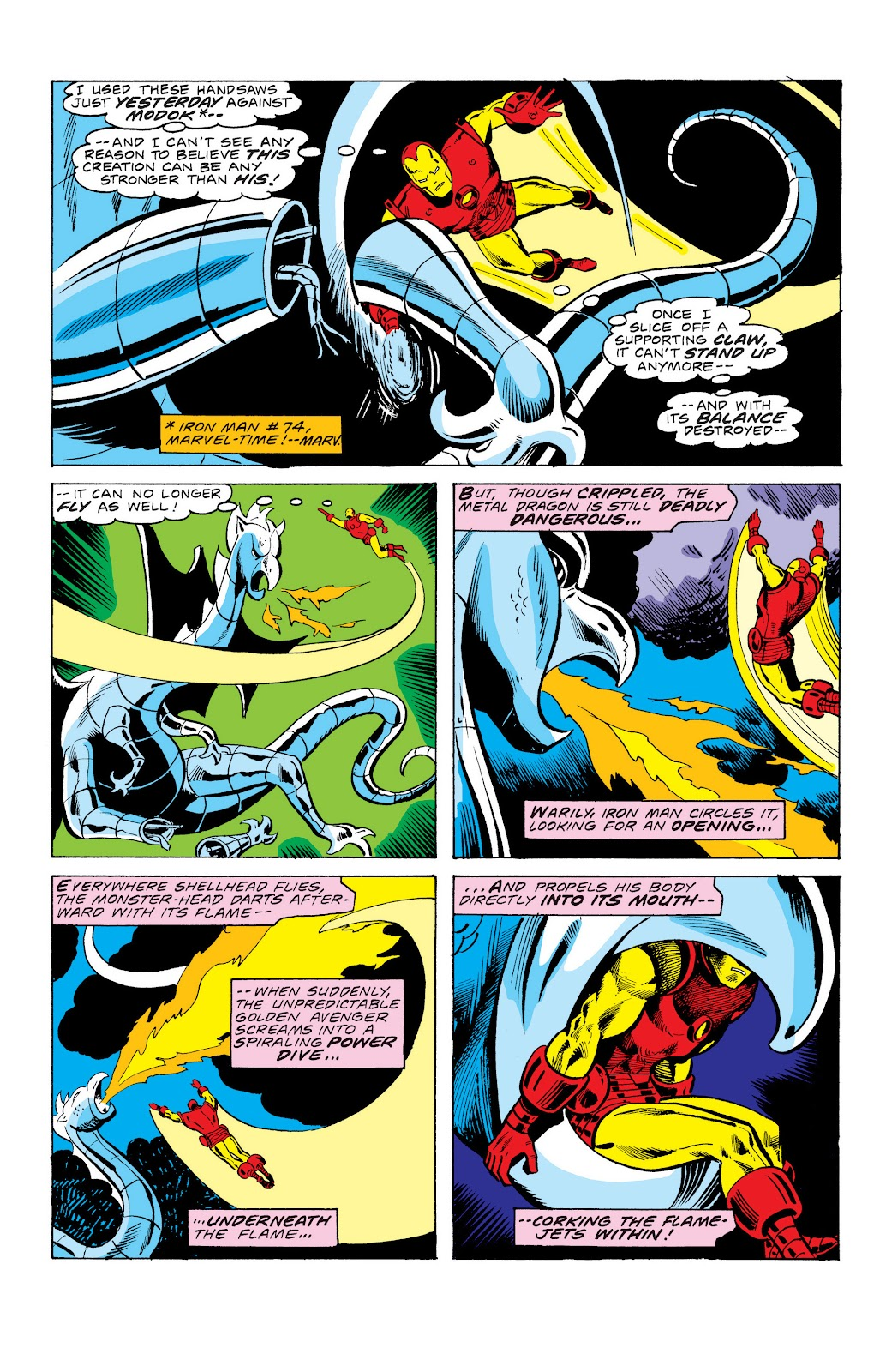 Read online Marvel Masterworks: The Invincible Iron Man comic -  Issue # TPB 10 (Part 3) - 46
