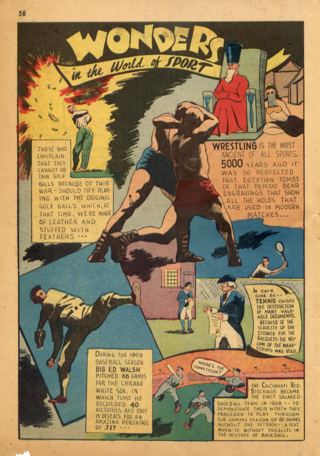 Read online Shadow Comics comic -  Issue #32 - 59