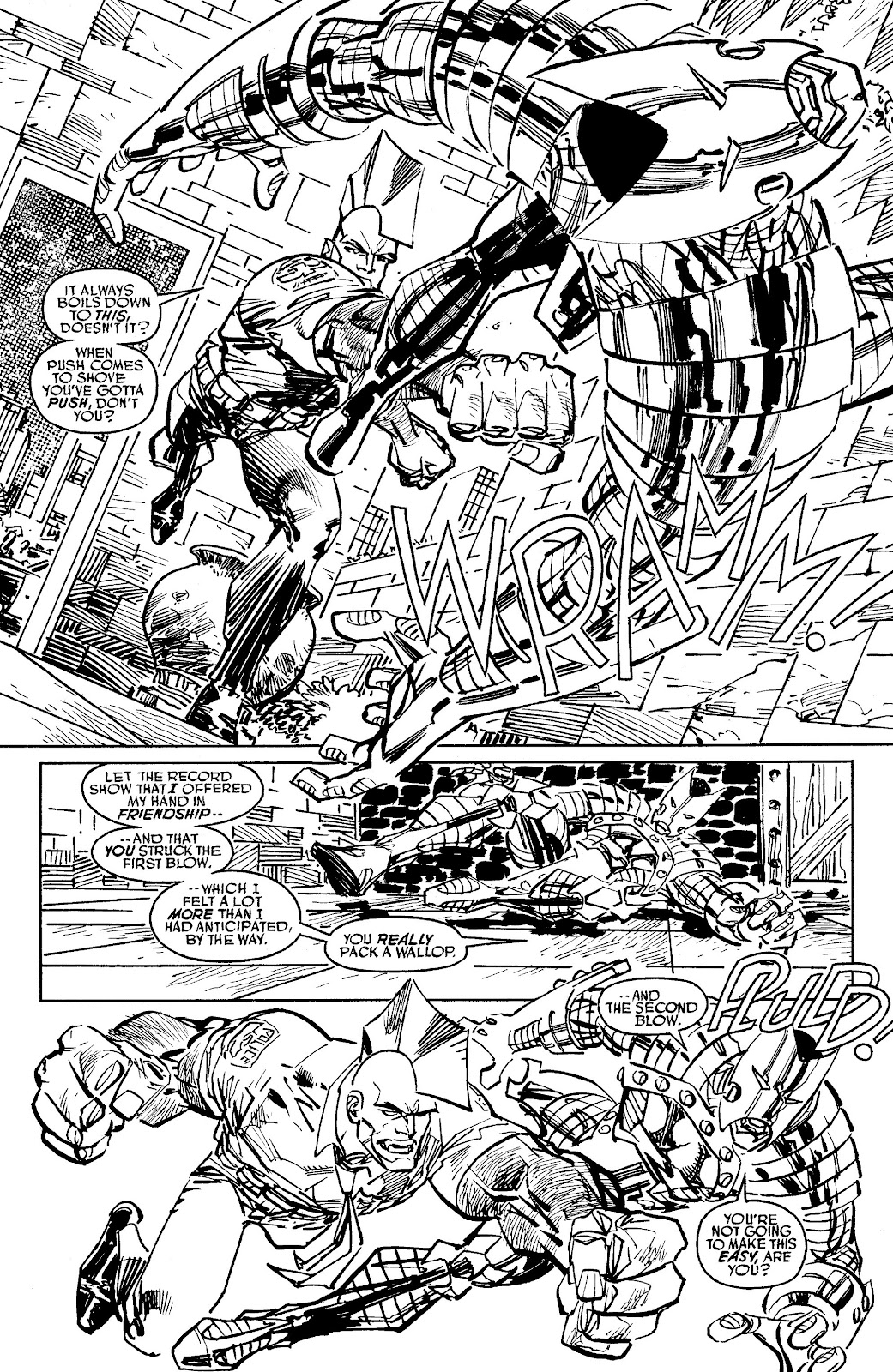 Read online Savage Dragon Archives comic -  Issue # TPB 6 (Part 6) - 8