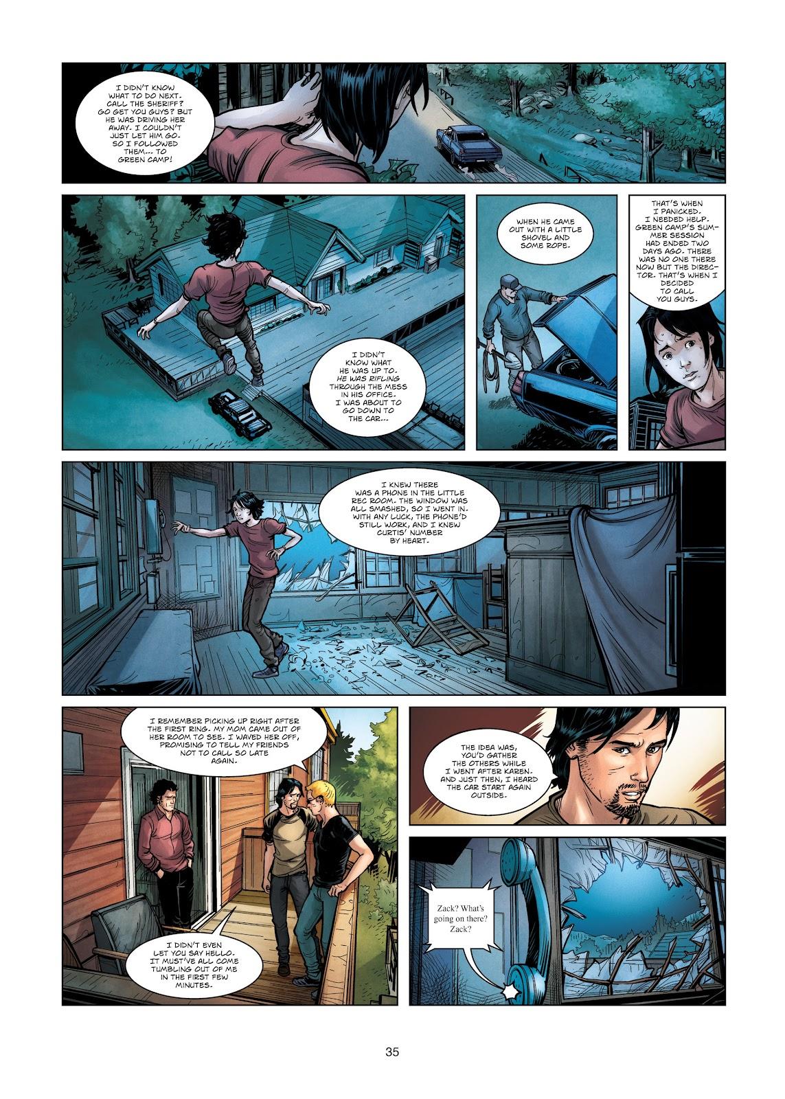 Read online Vigilantes comic -  Issue #3 - 35