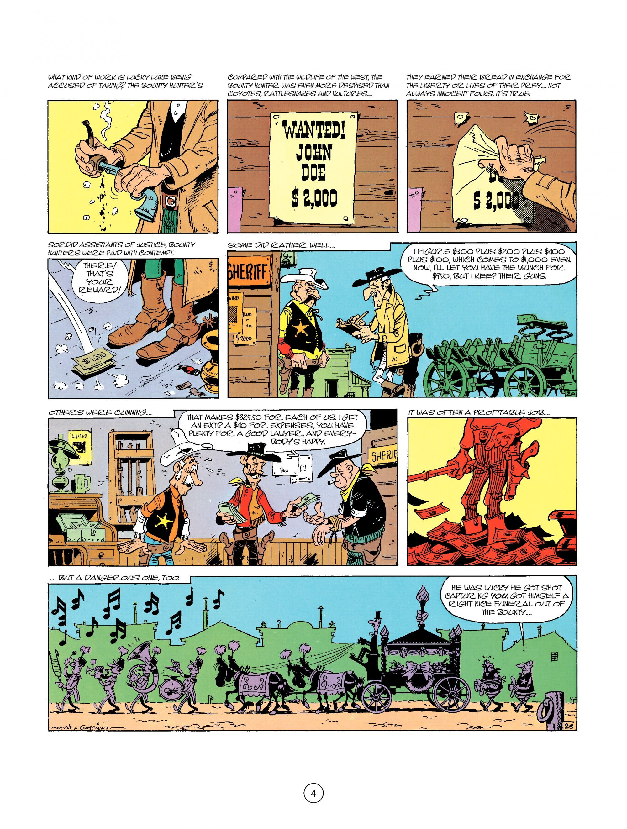 Read online A Lucky Luke Adventure comic -  Issue #26 - 4