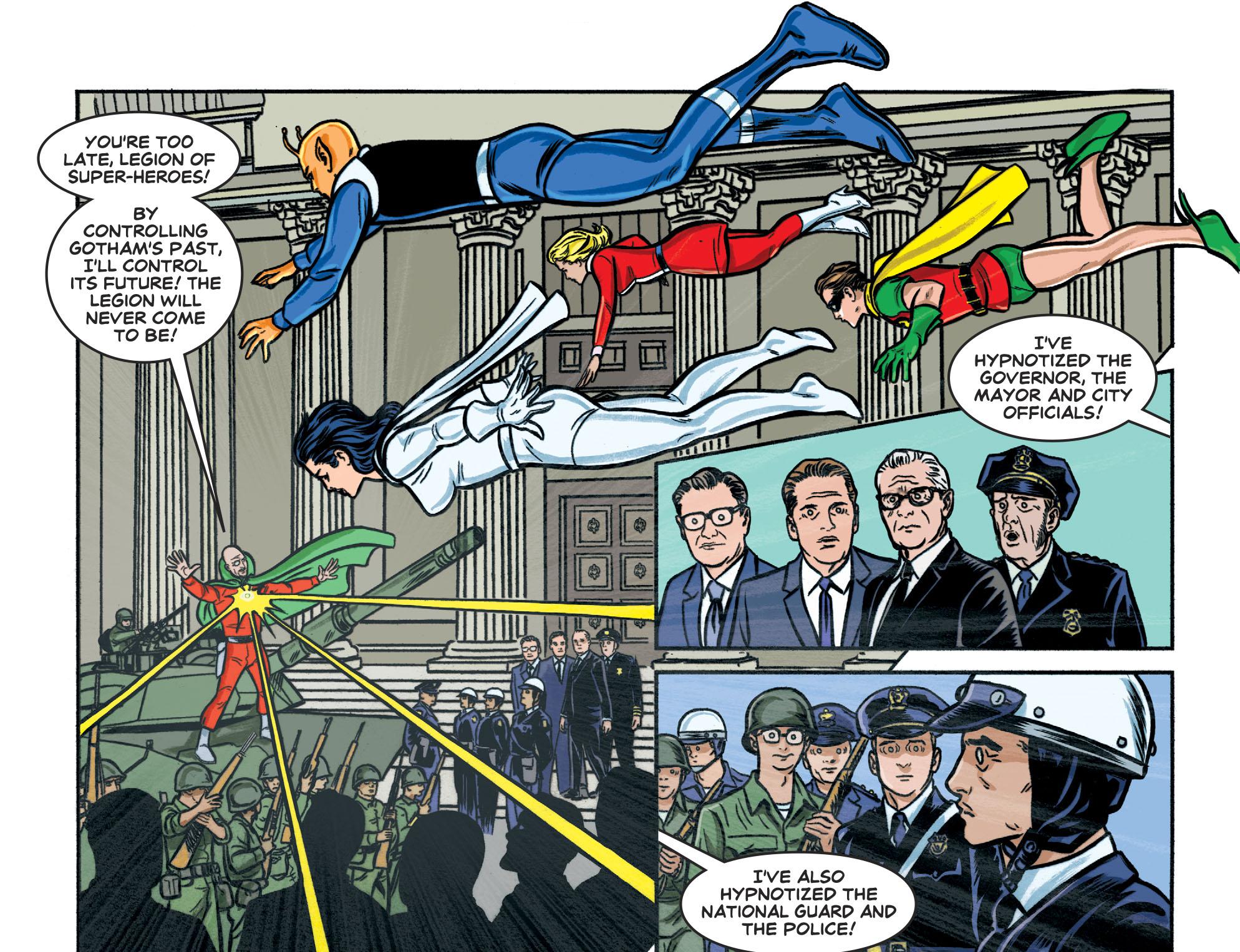 Read online Batman '66 Meets the Legion of Super-Heroes comic -  Issue #1 - 22