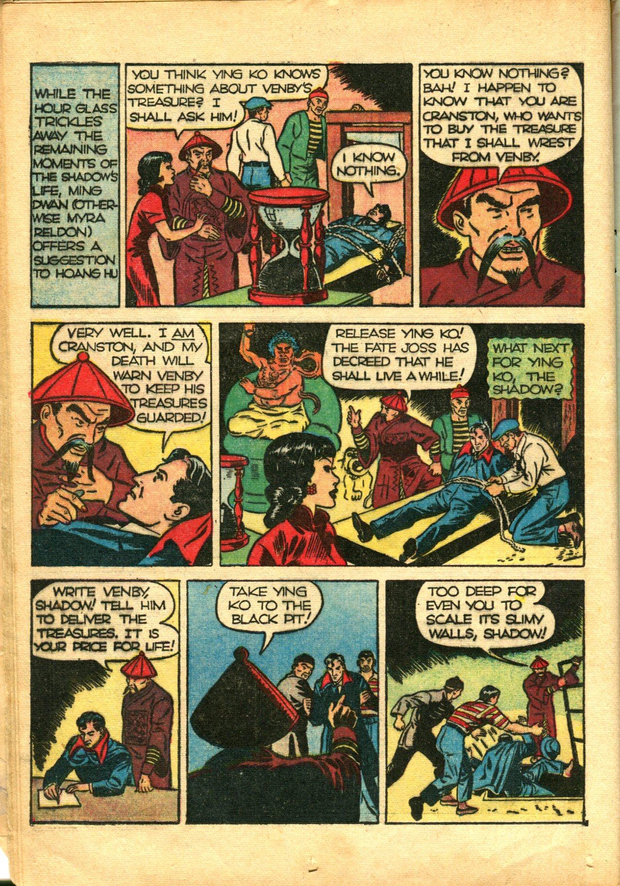Read online Shadow Comics comic -  Issue #10 - 20