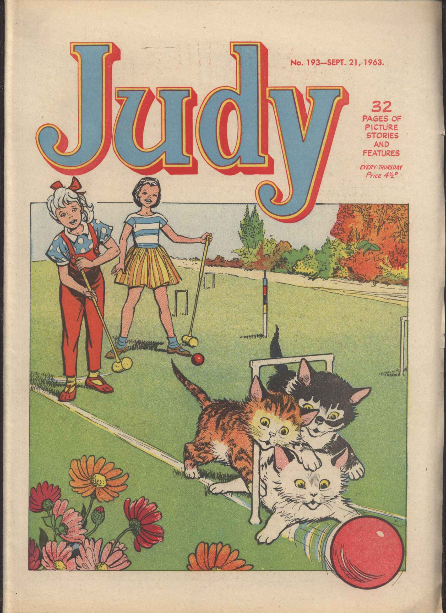 Read online Judy comic -  Issue #193 - 1
