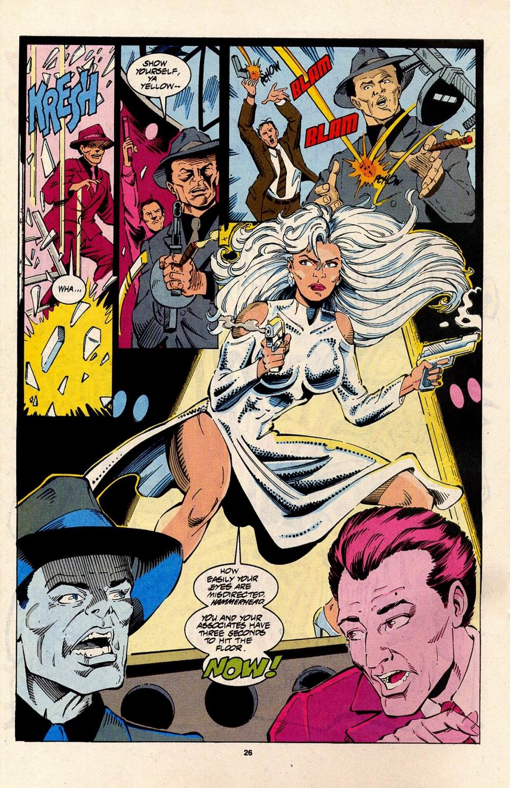Read online Silver Sable and the Wild Pack comic -  Issue #31 - 20