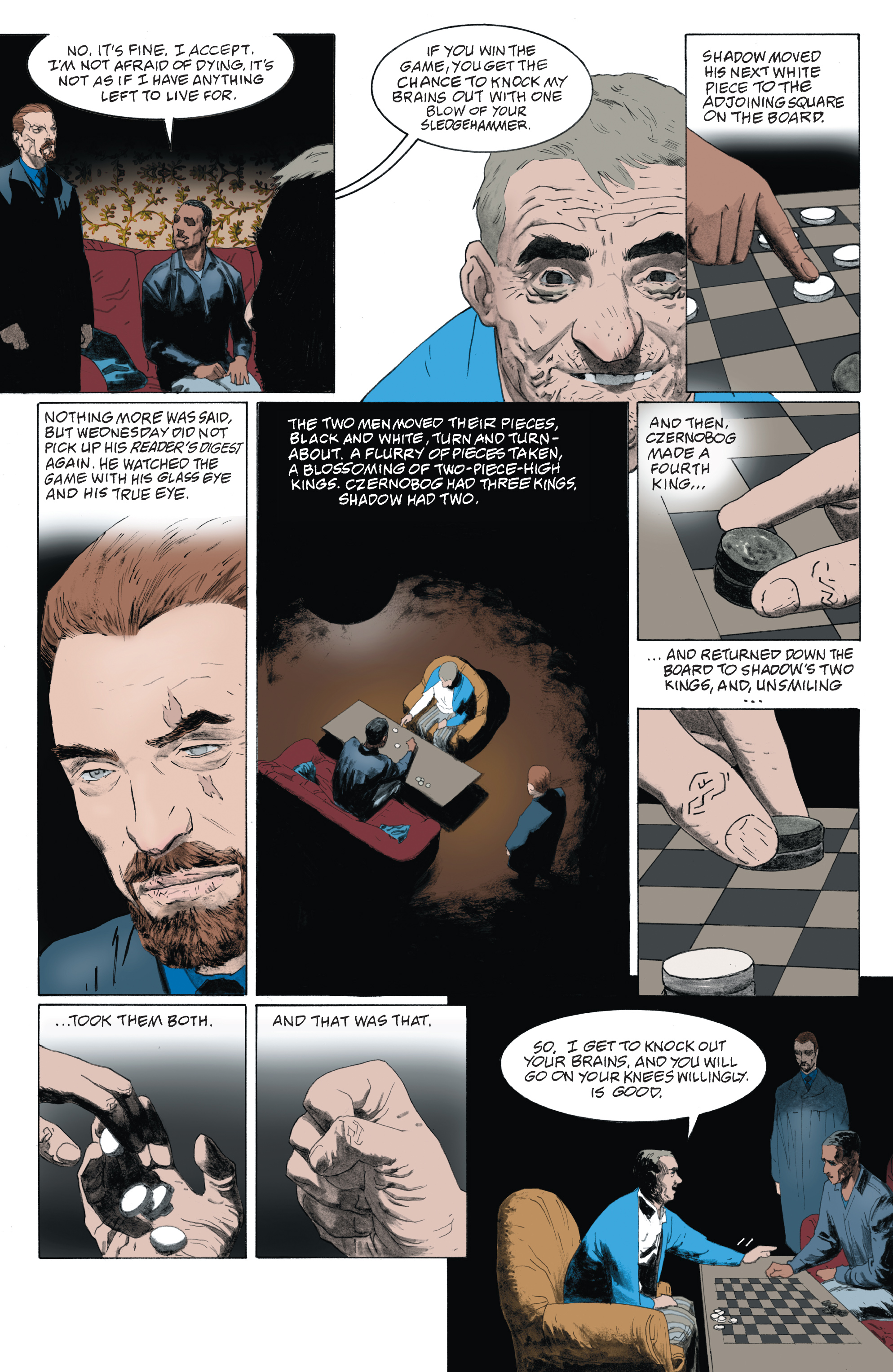 Read online American Gods: Shadows comic -  Issue #4 - 6