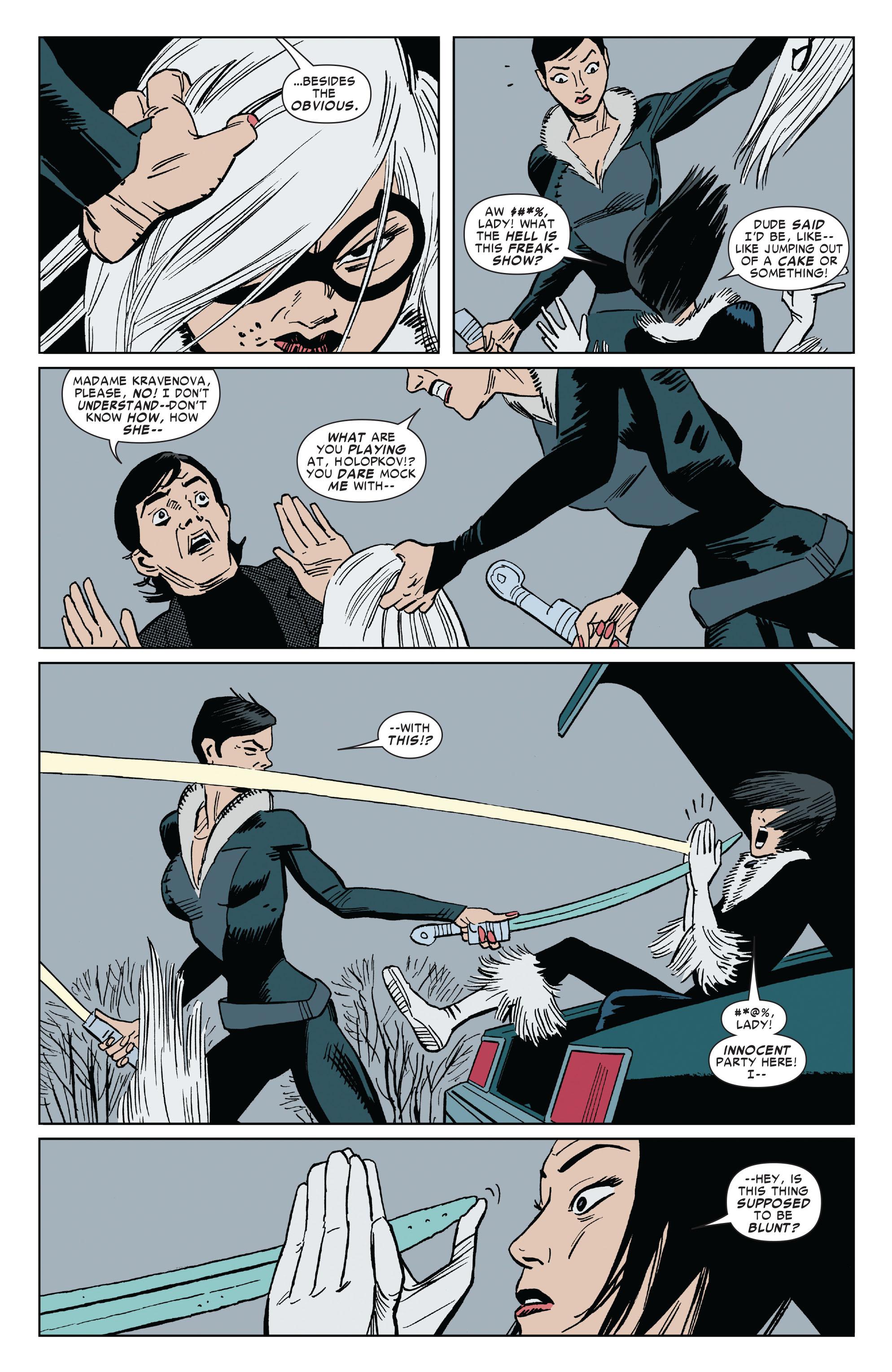 Read online Amazing Spider-Man Presents: Black Cat comic -  Issue #3 - 22
