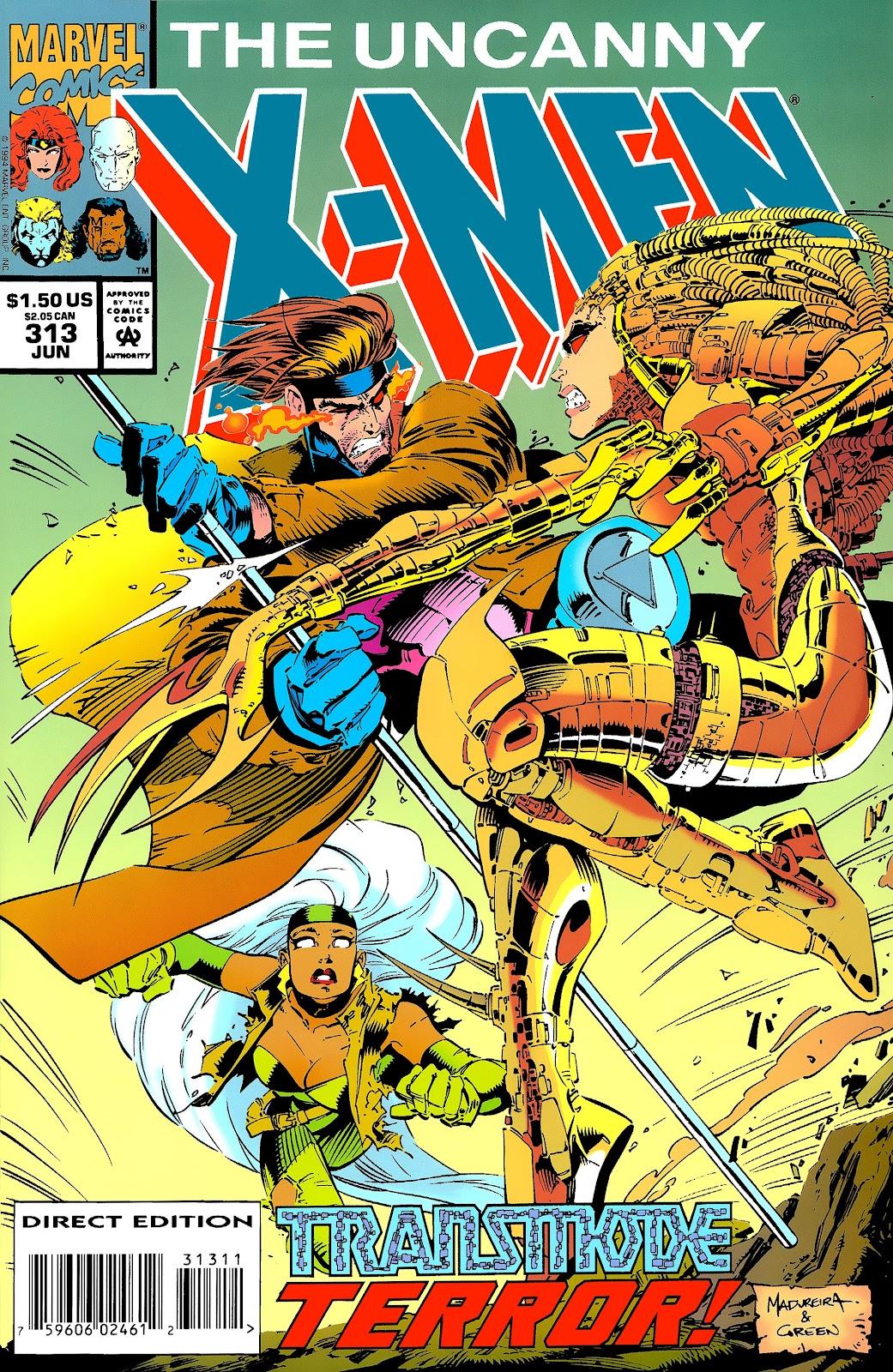Uncanny X-Men (1963) issue 313 - Page 1