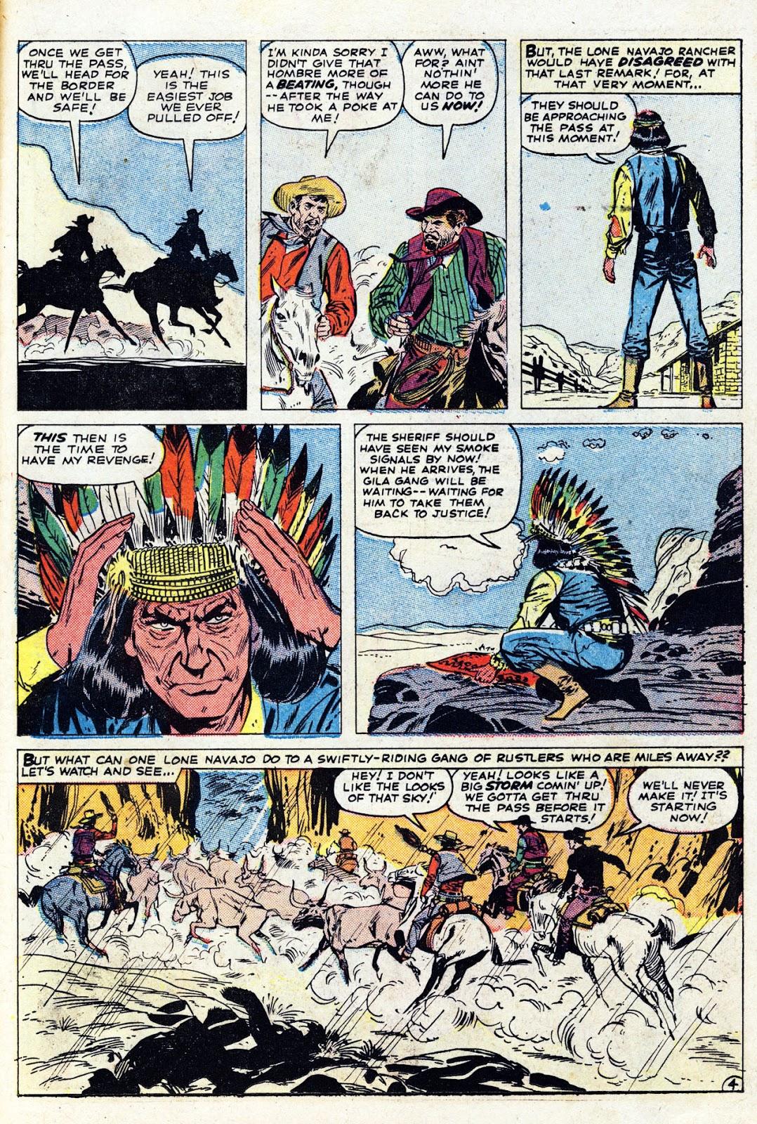 Gunsmoke Western issue 76 - Page 23