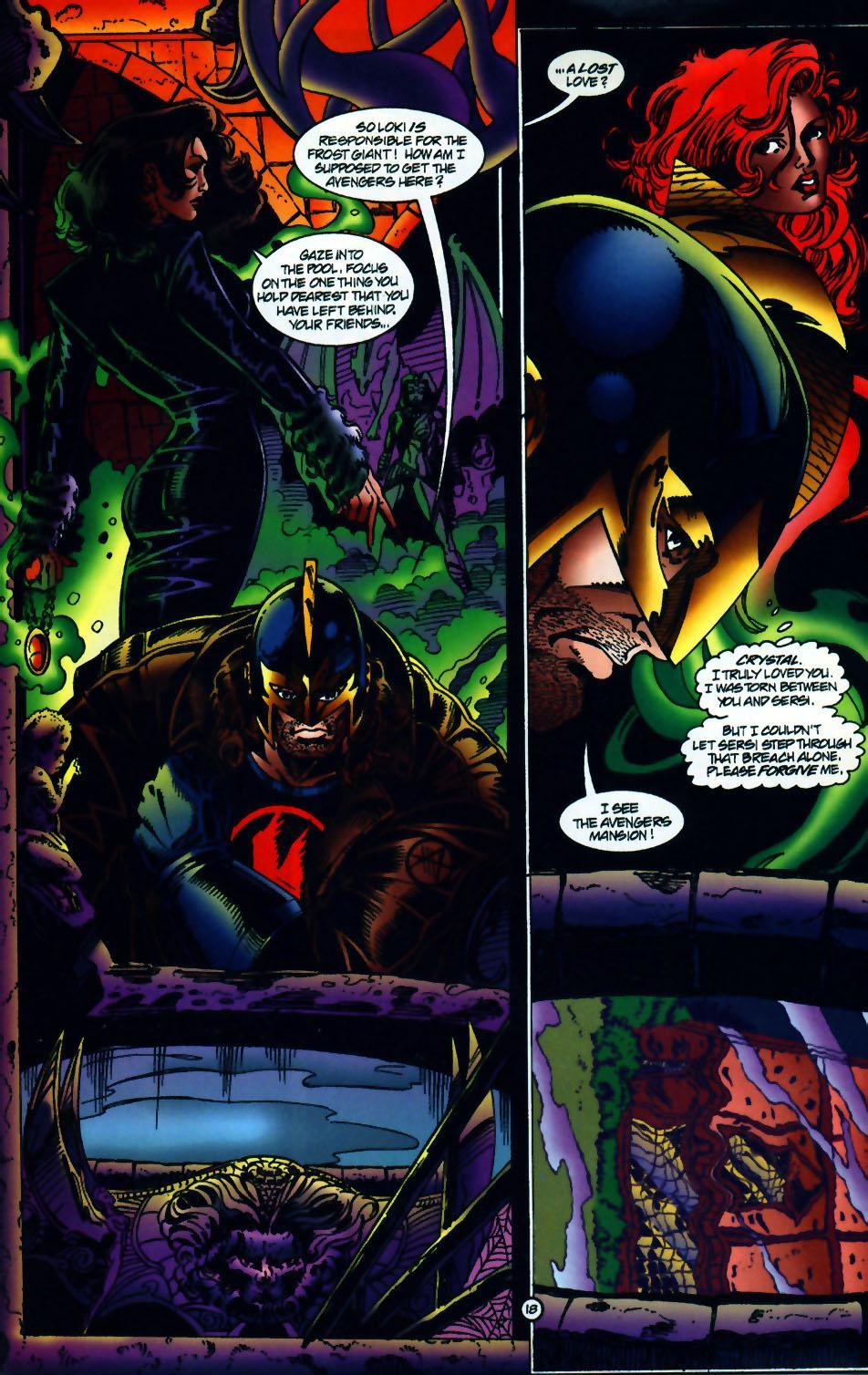 Read online UltraForce (1994) comic -  Issue #10 - 19