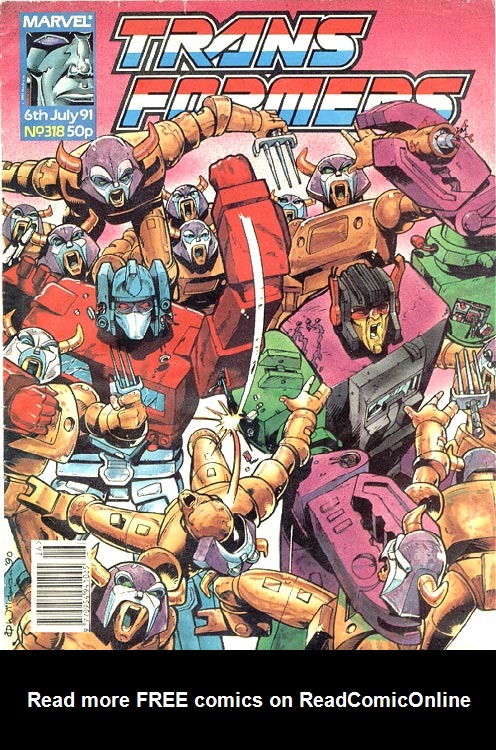 The Transformers (UK) 318 Page 1