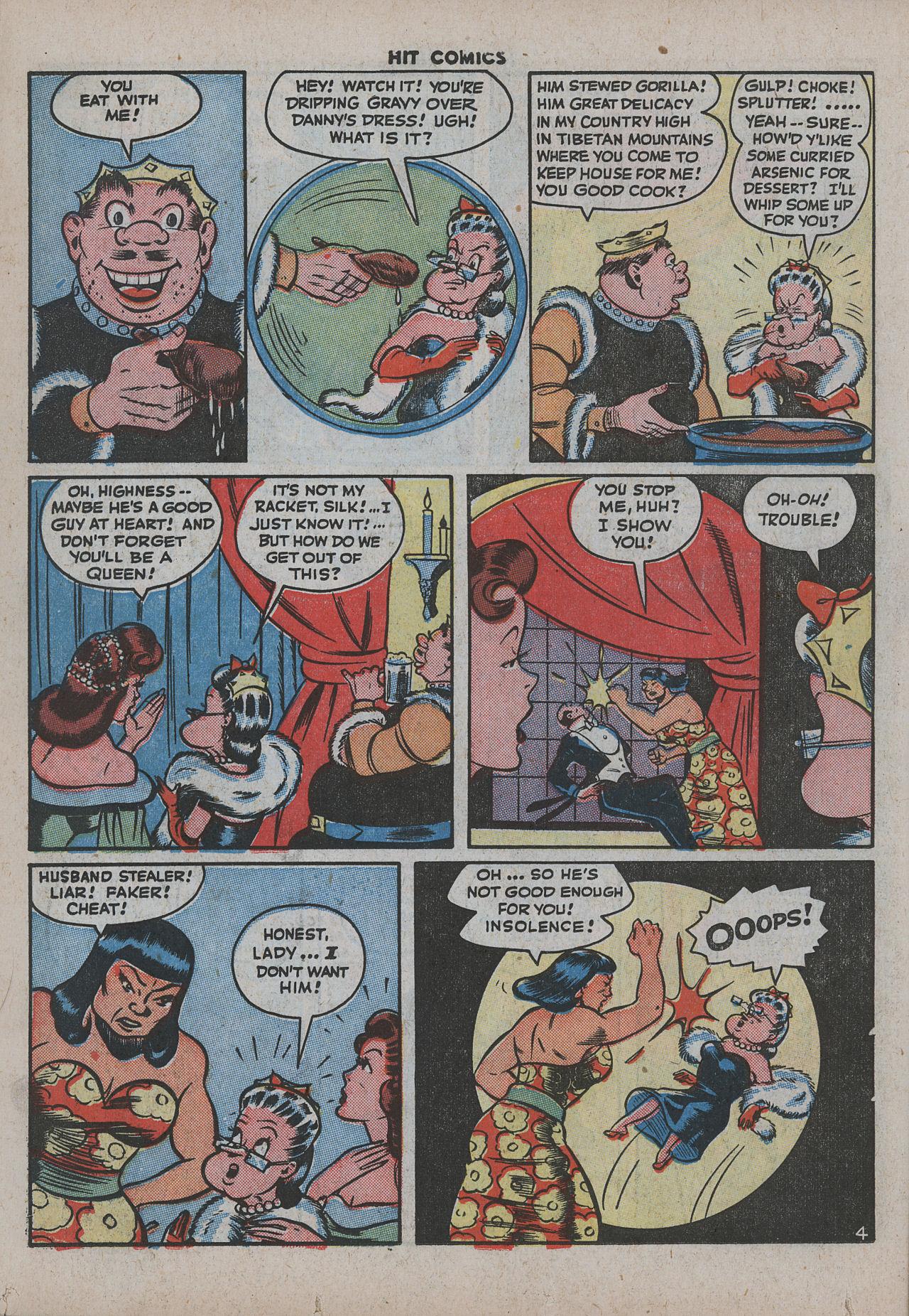 Read online Hit Comics comic -  Issue #38 - 31