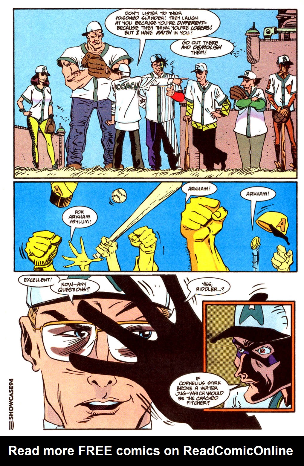 Read online Showcase '94 comic -  Issue #4 - 9