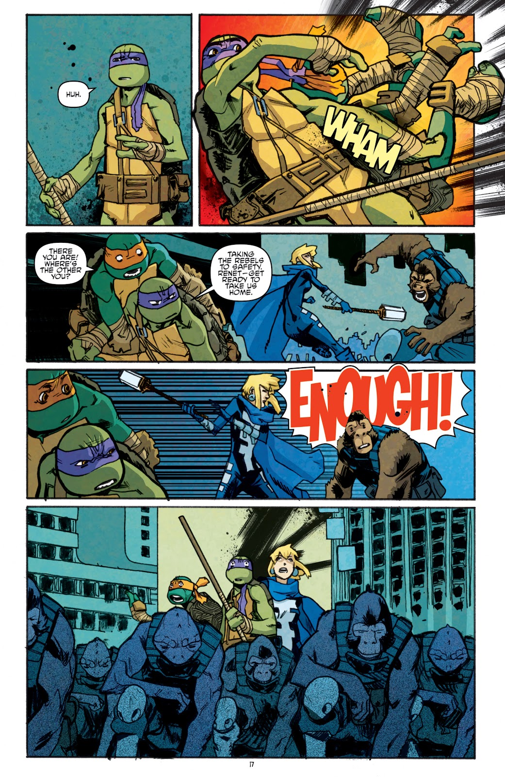 Read online Teenage Mutant Ninja Turtles: The IDW Collection comic -  Issue # TPB 5 (Part 1) - 92