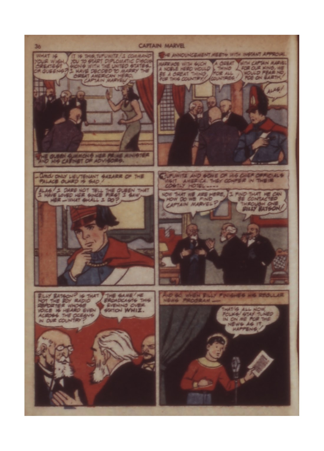 Captain Marvel Adventures issue 11 - Page 36