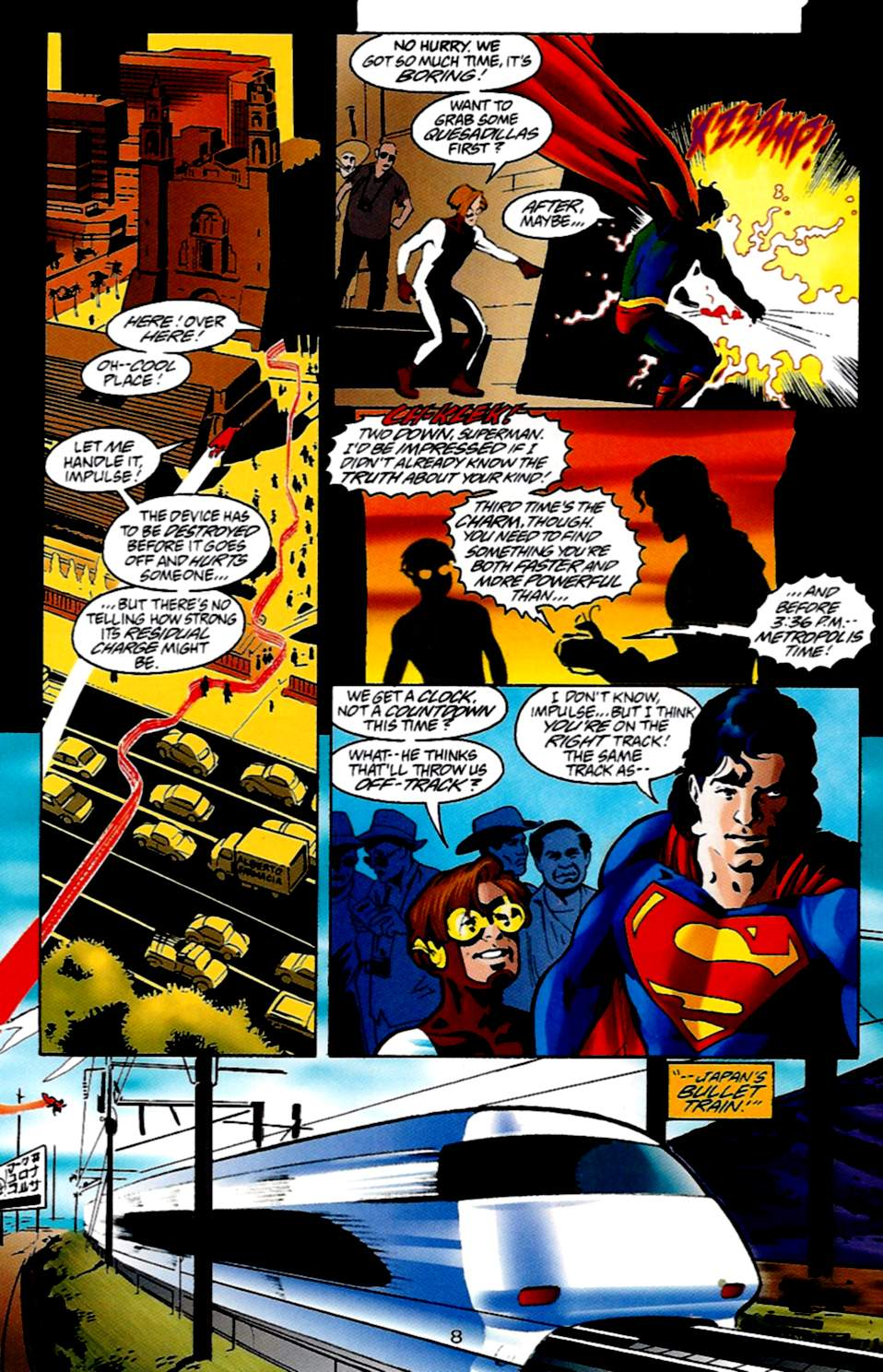 Read online Adventures of Superman (1987) comic -  Issue #533 - 9