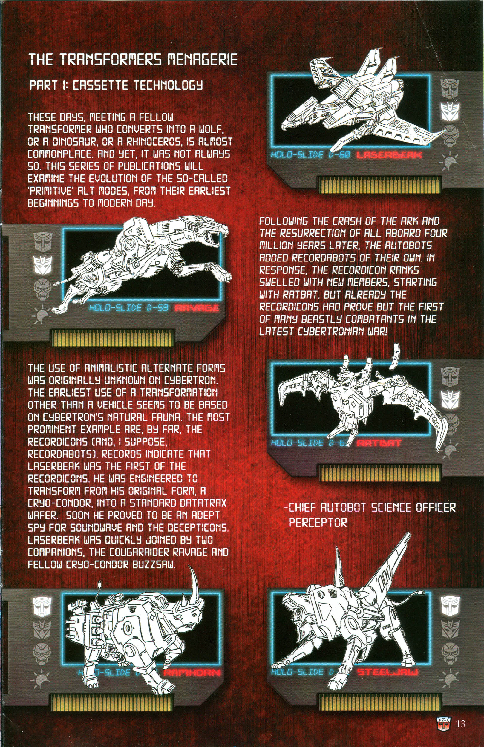 Read online Transformers: Collectors' Club comic -  Issue #49 - 13