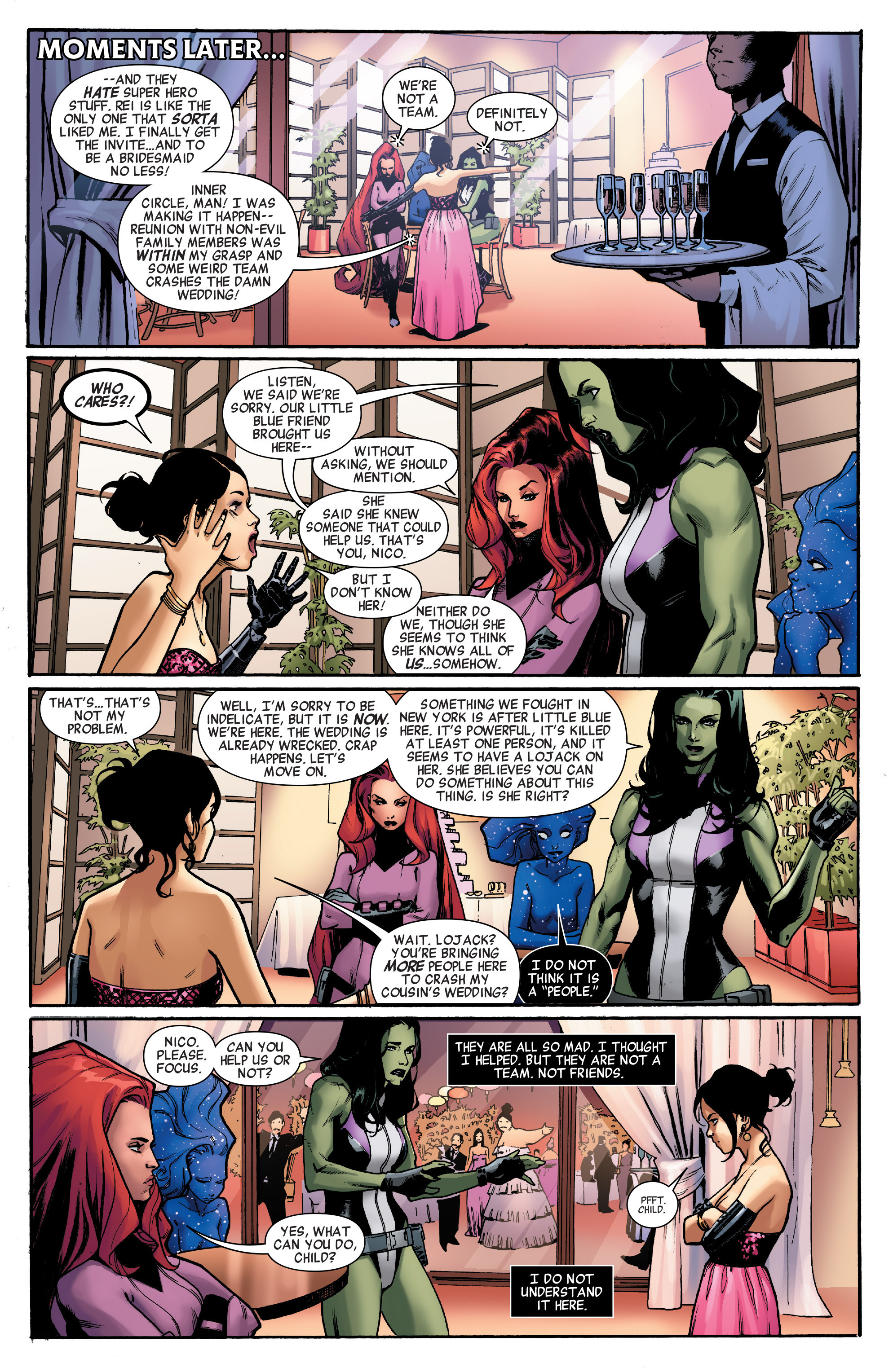 Read online A-Force (2016) comic -  Issue #2 - 10