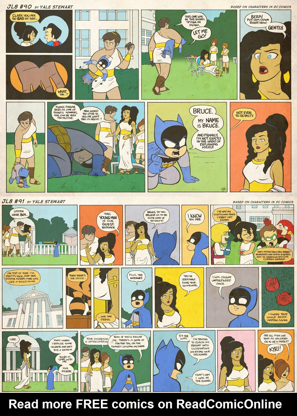 Read online JL8 – The Complete Collection comic -  Issue # TPB (Part 1) - 44
