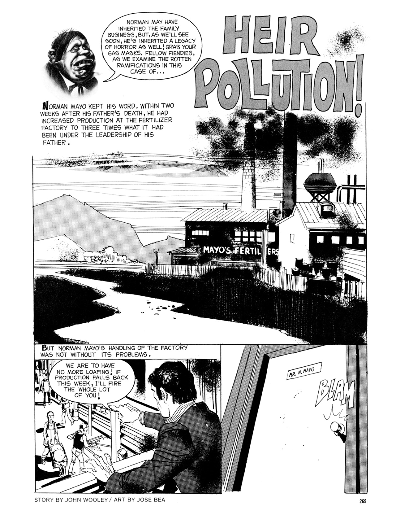 Read online Eerie Archives comic -  Issue # TPB 8 - 270