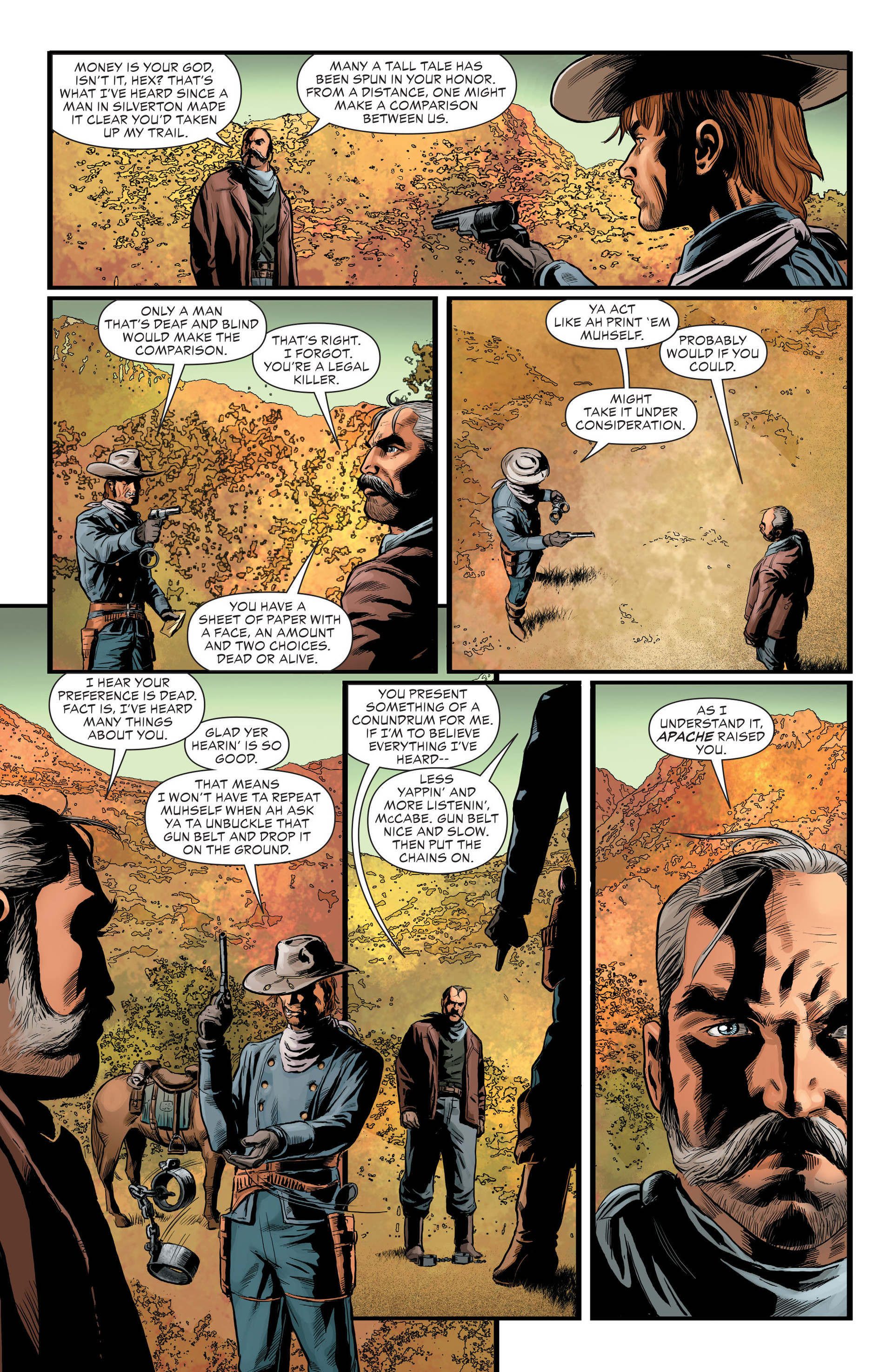 Read online All-Star Western (2011) comic -  Issue #29 - 12