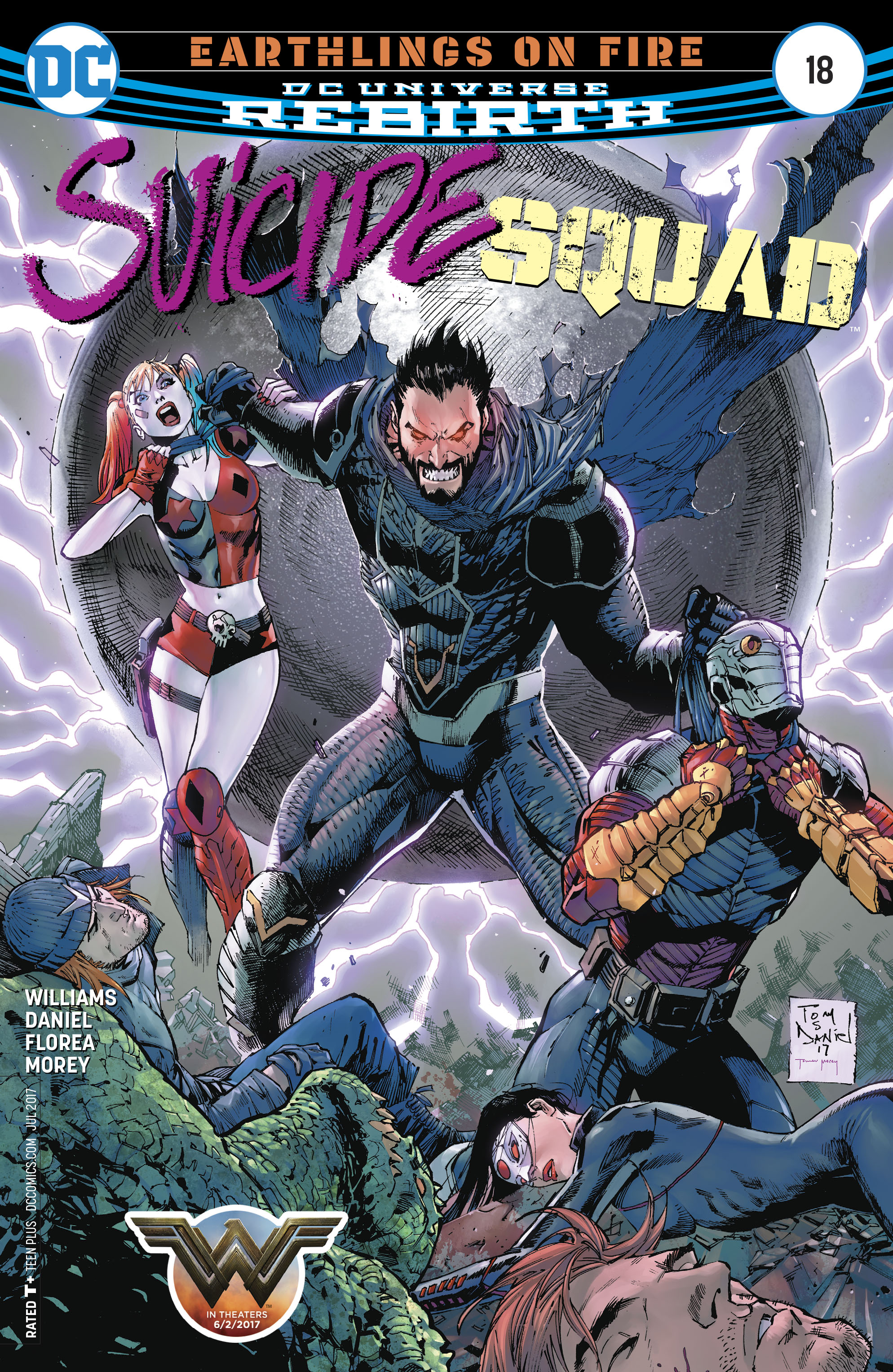Read online Suicide Squad (2016) comic -  Issue #18 - 1