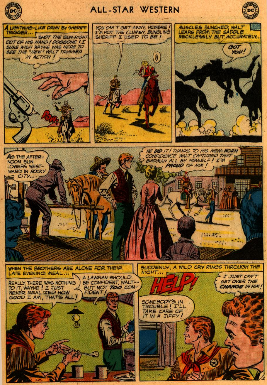 Read online All-Star Western (1951) comic -  Issue #107 - 28