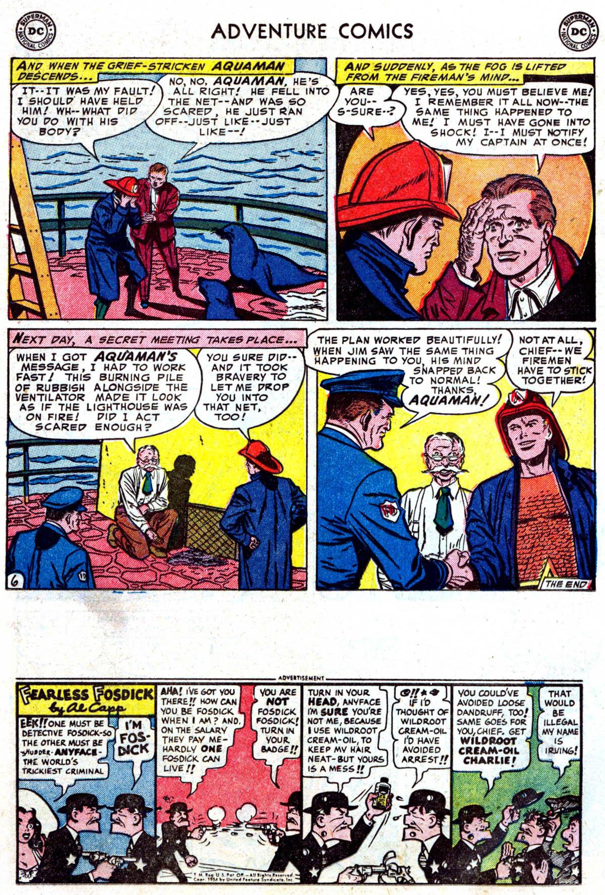 Read online Adventure Comics (1938) comic -  Issue #199 - 19