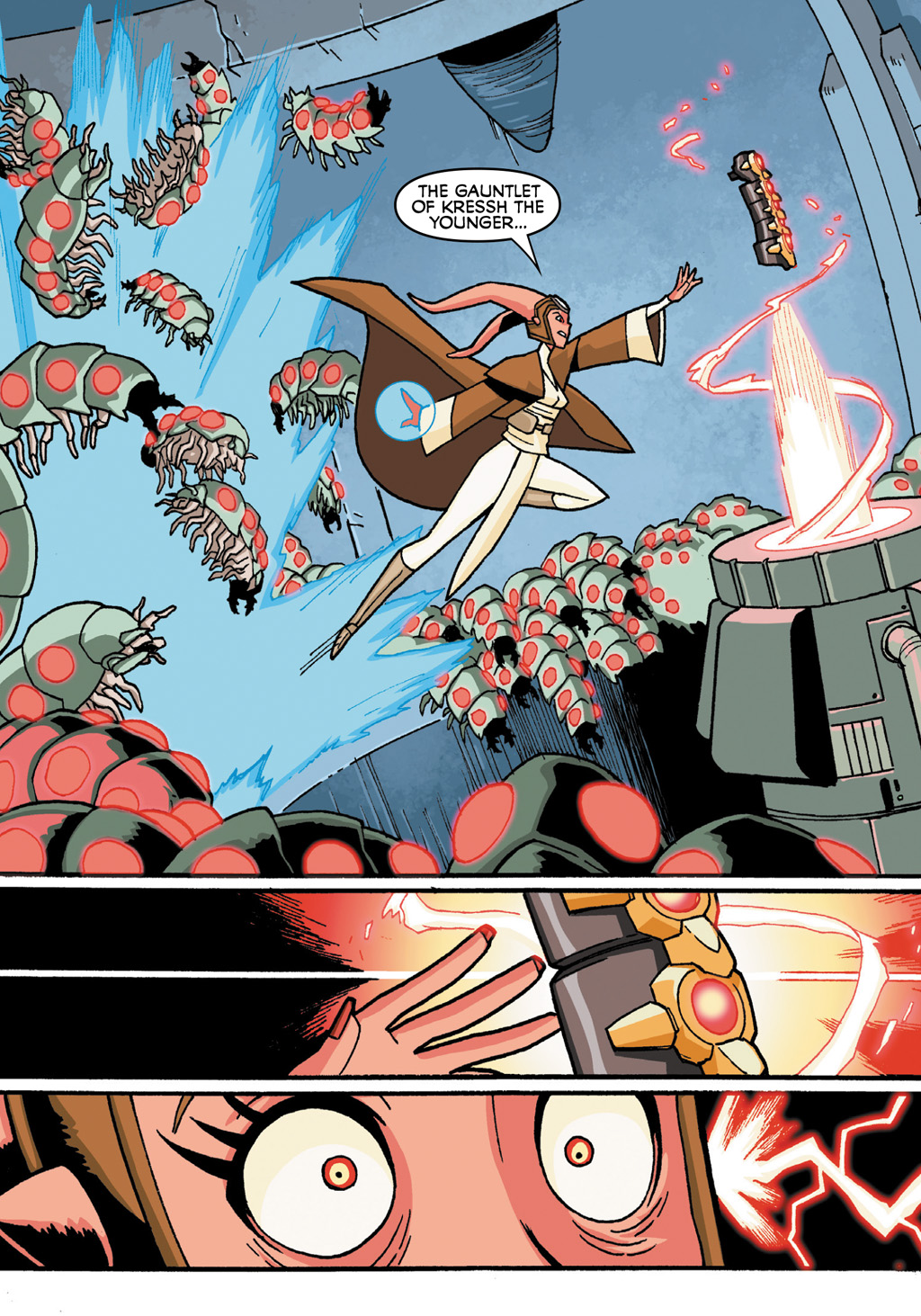 Read online Star Wars: The Clone Wars - Defenders of the Lost Temple comic -  Issue # Full - 36