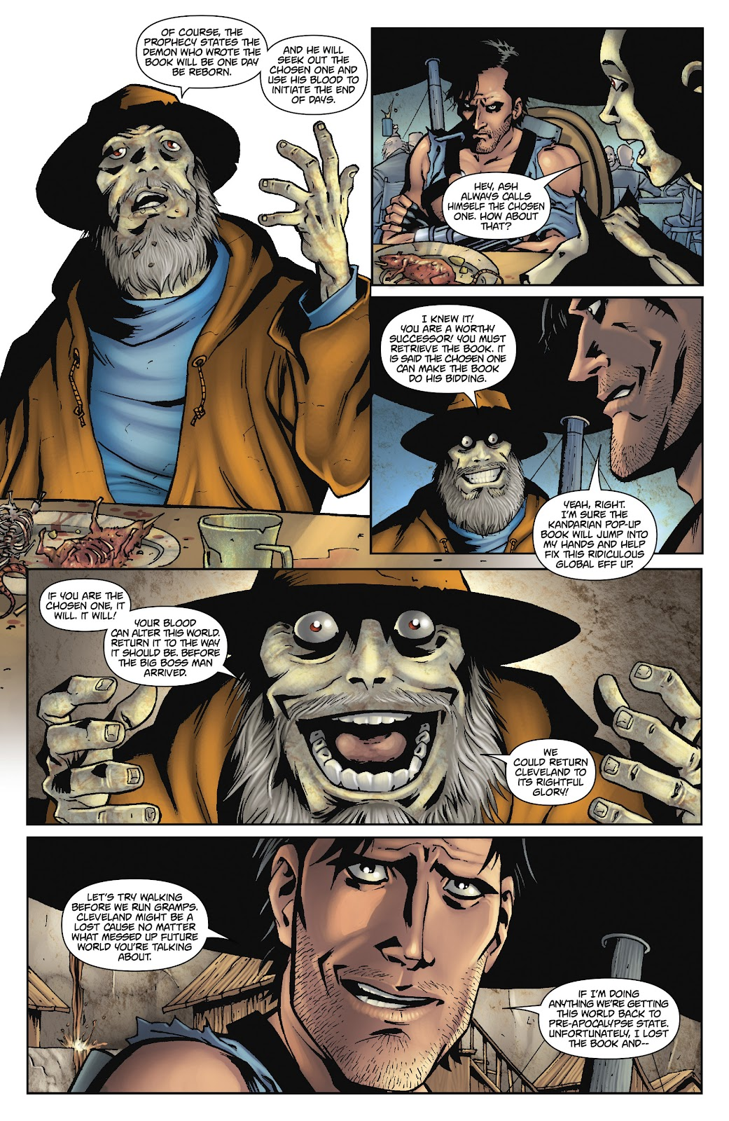 Army of Darkness: The Long Road Home issue TPB - Page 77