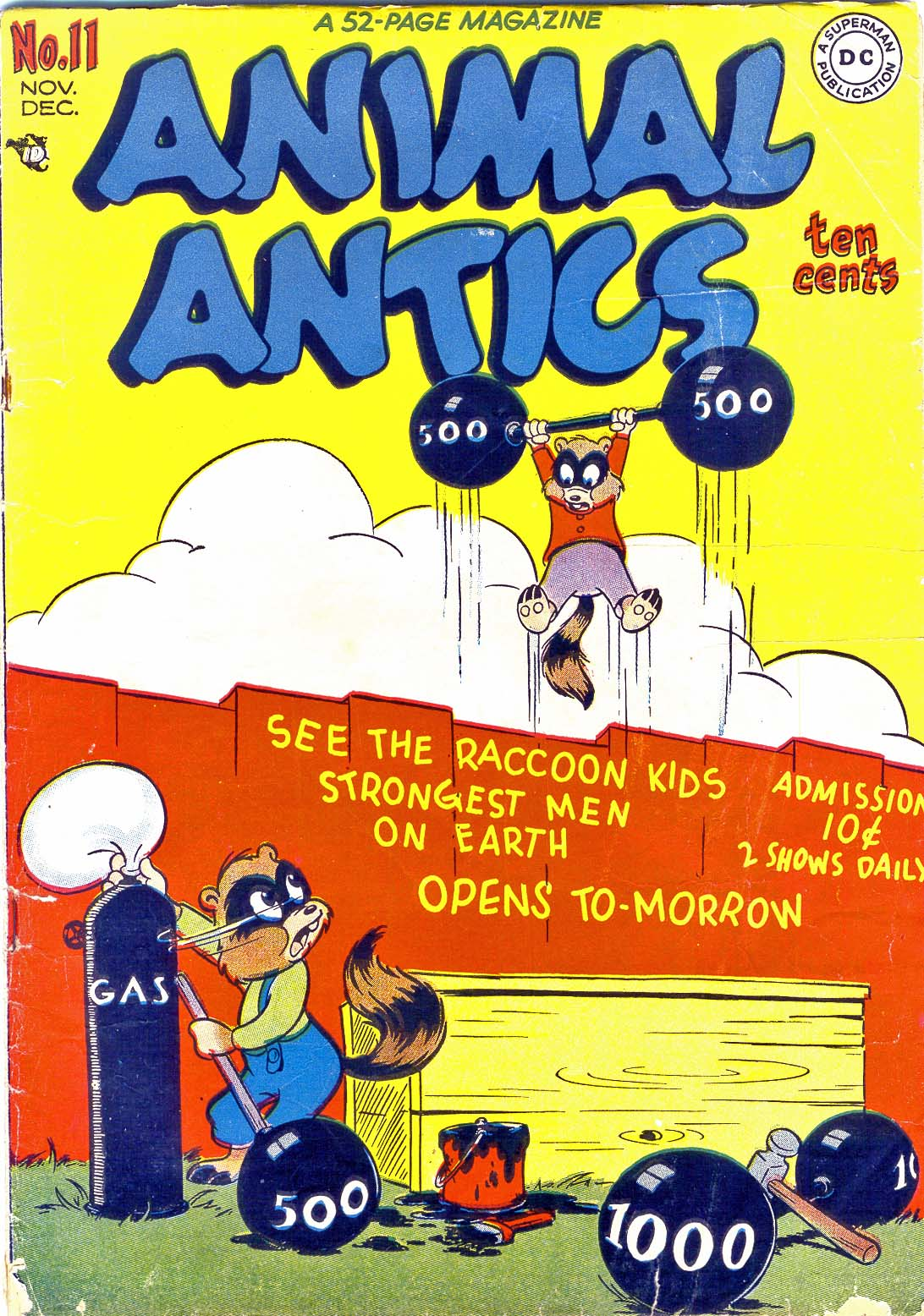 Read online Animal Antics comic -  Issue #11 - 1