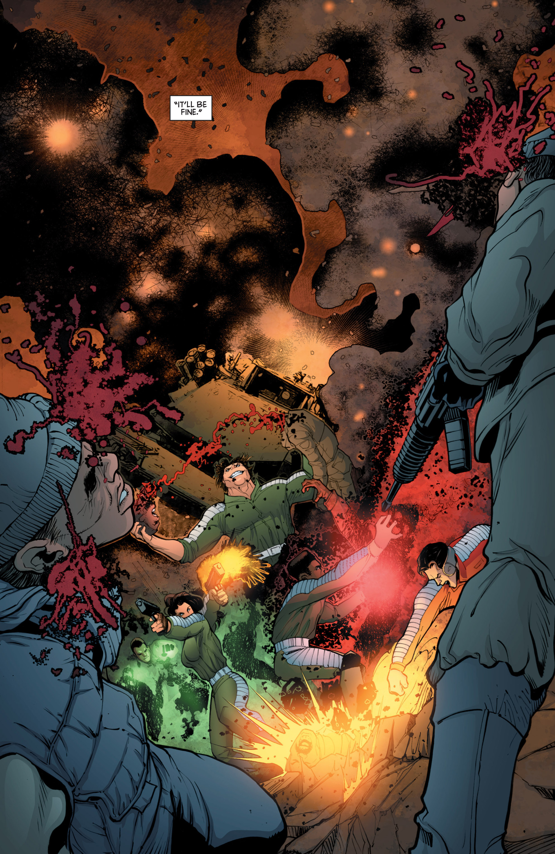 Read online Bloodshot and H.A.R.D.Corps comic -  Issue #18 - 20