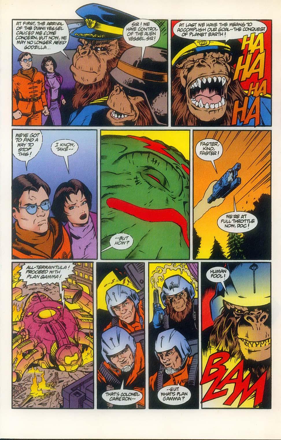 Godzilla (1995) Issue #8 #9 - English 10