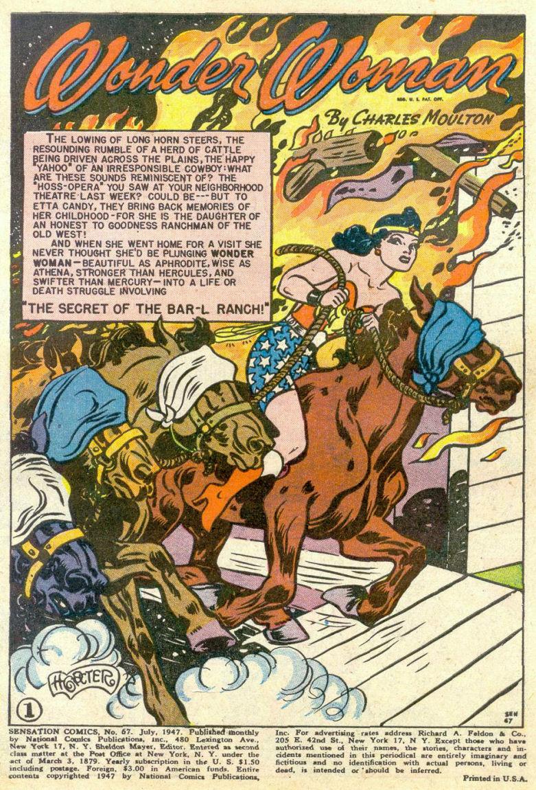 Read online Sensation (Mystery) Comics comic -  Issue #67 - 3
