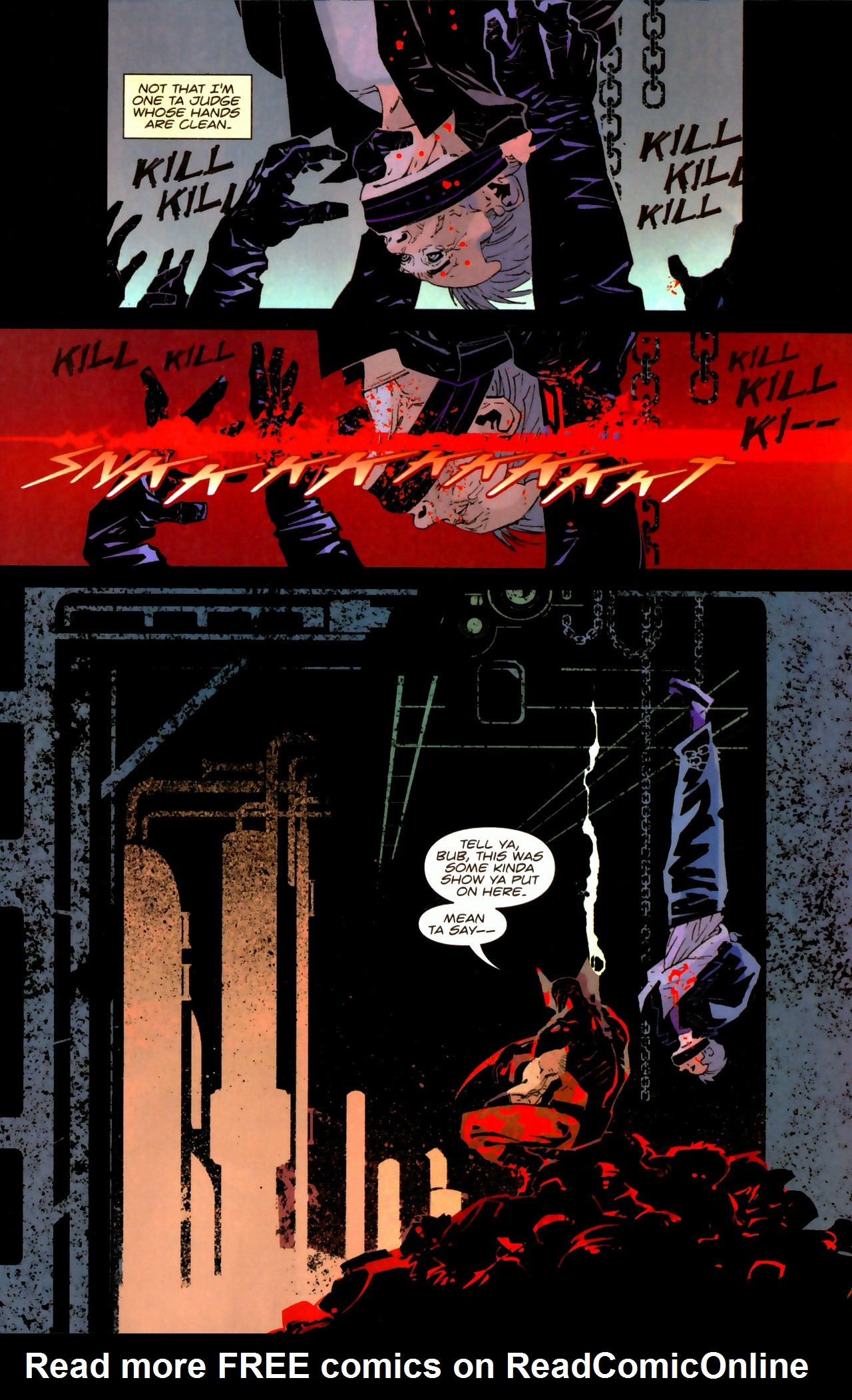 Read online X-Force Special: Ain't No Dog comic -  Issue # Full - 19