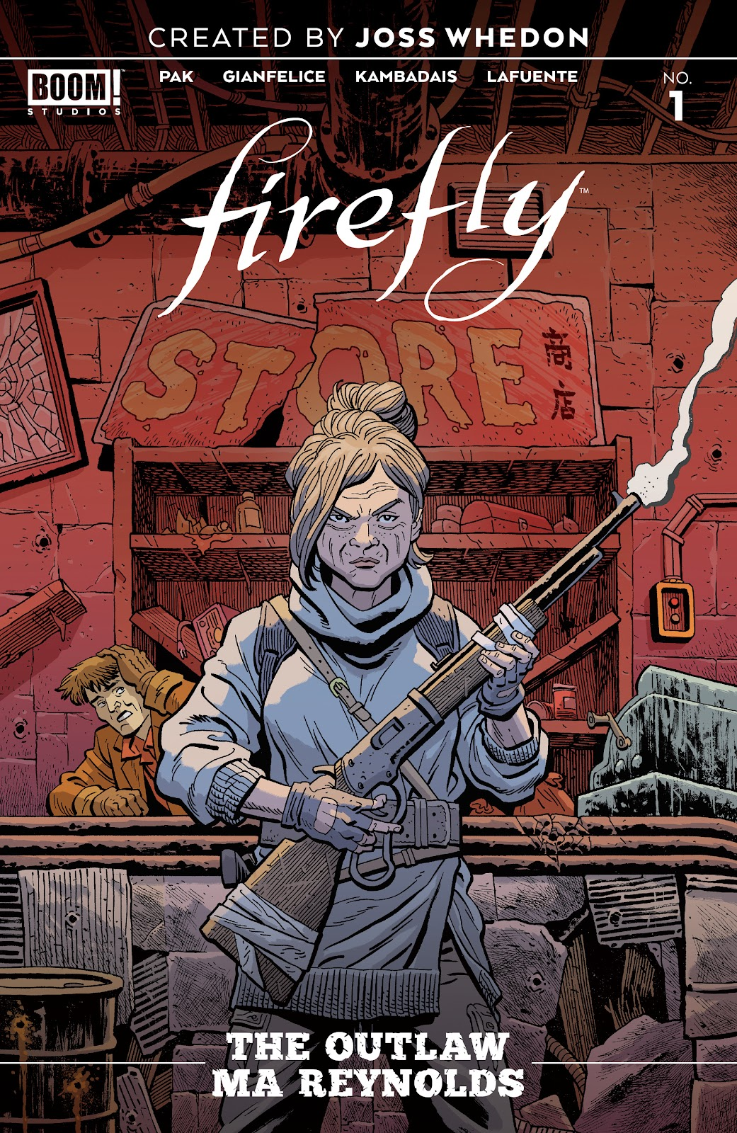 Read online Firefly: The Outlaw Ma Reynolds comic -  Issue # Full - 1