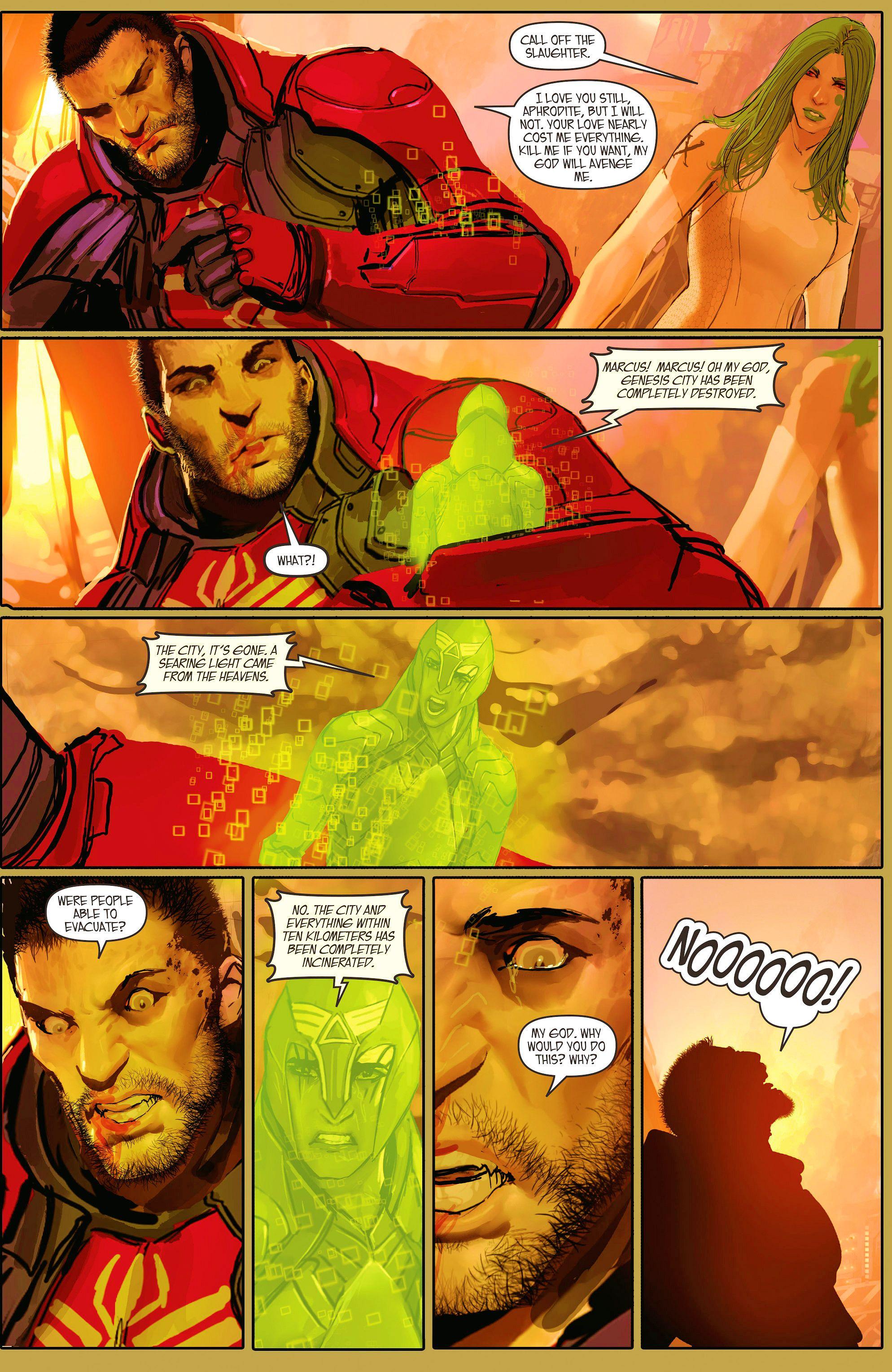 Read online Aphrodite IX (2013) comic -  Issue #11 - 20