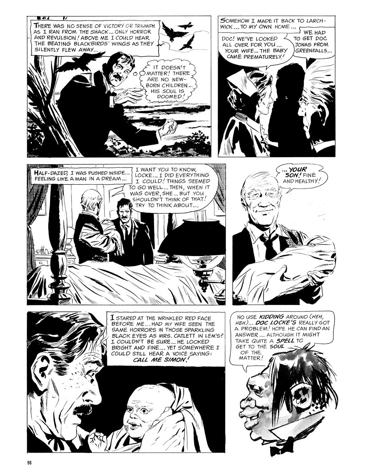 Read online Eerie Archives comic -  Issue # TPB 1 - 99