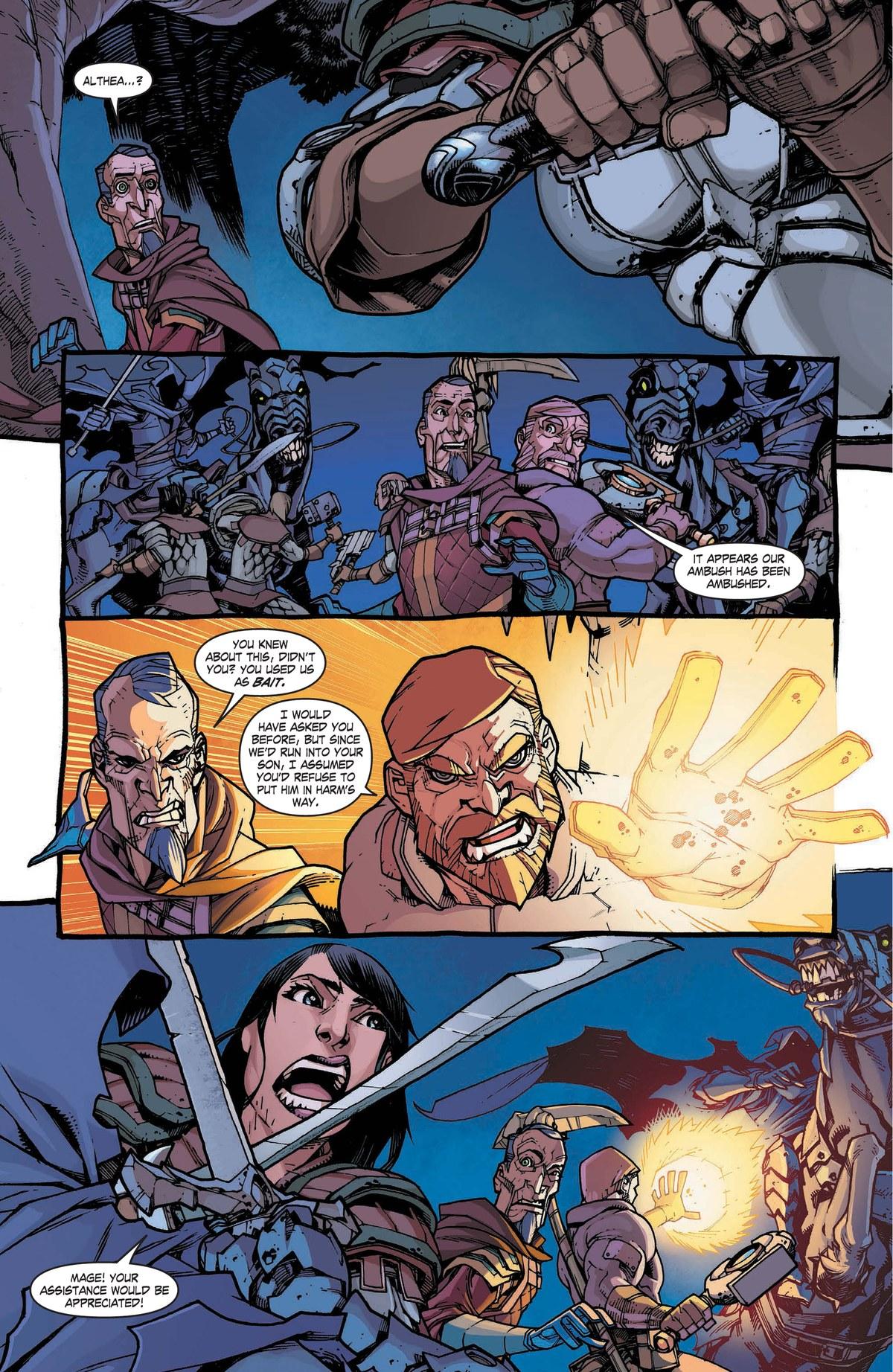 Read online World of Warcraft: Dark Riders comic -  Issue # Full - 99