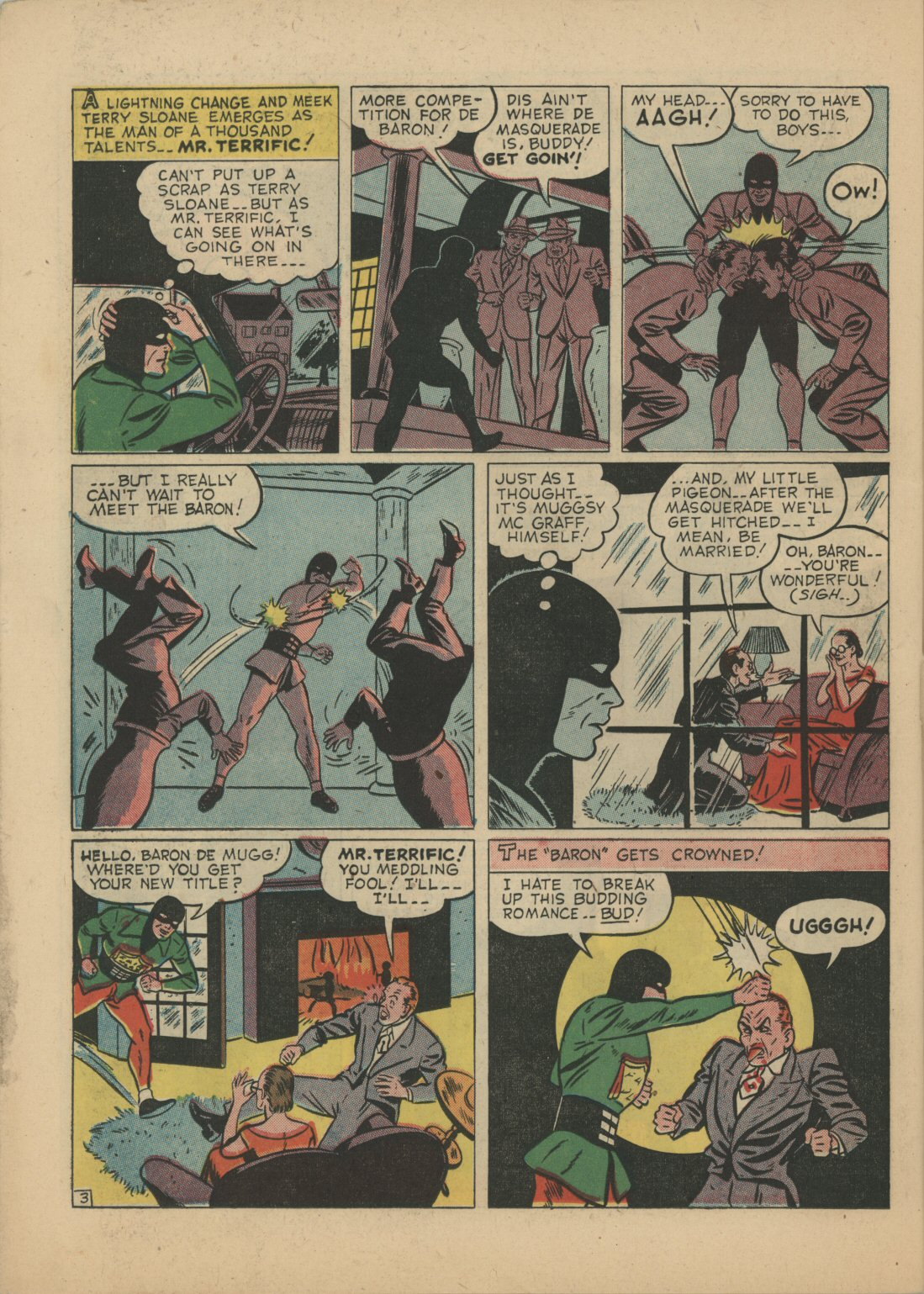 Read online Sensation (Mystery) Comics comic -  Issue #21 - 36