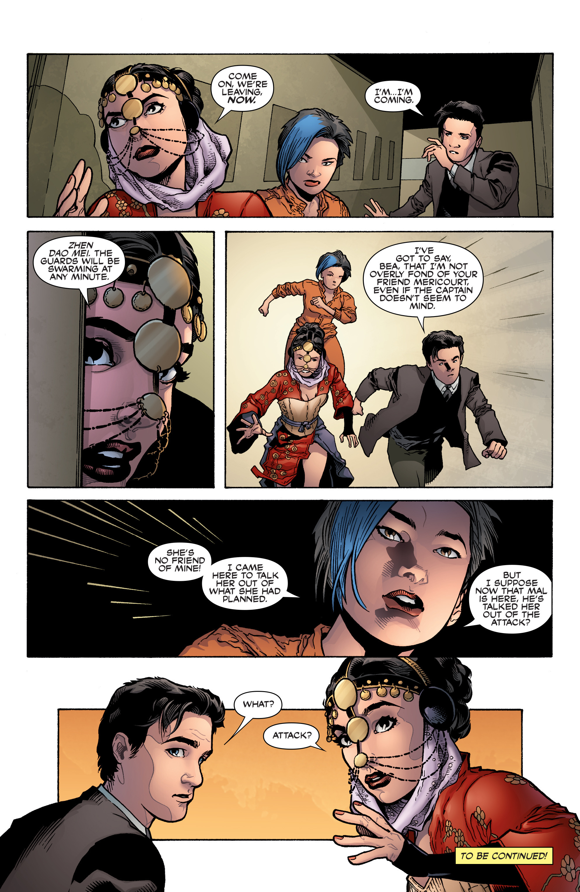 Read online Serenity: Firefly Class 03-K64 – No Power in the 'Verse comic -  Issue #3 - 25