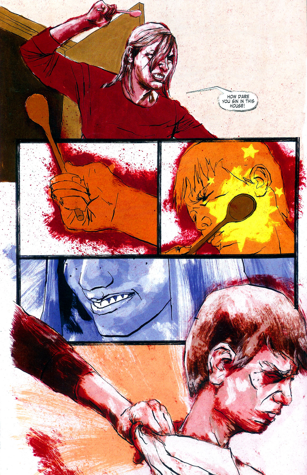 Read online Se7en comic -  Issue #4 - 14