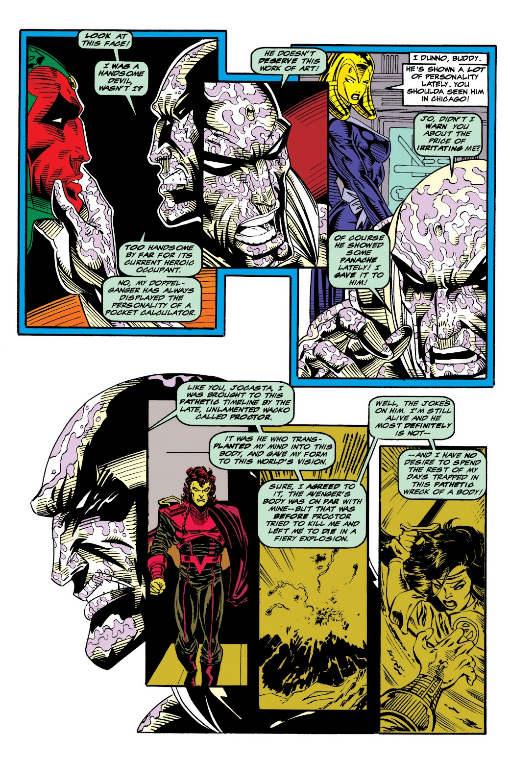 Read online The Vision comic -  Issue #4 - 5