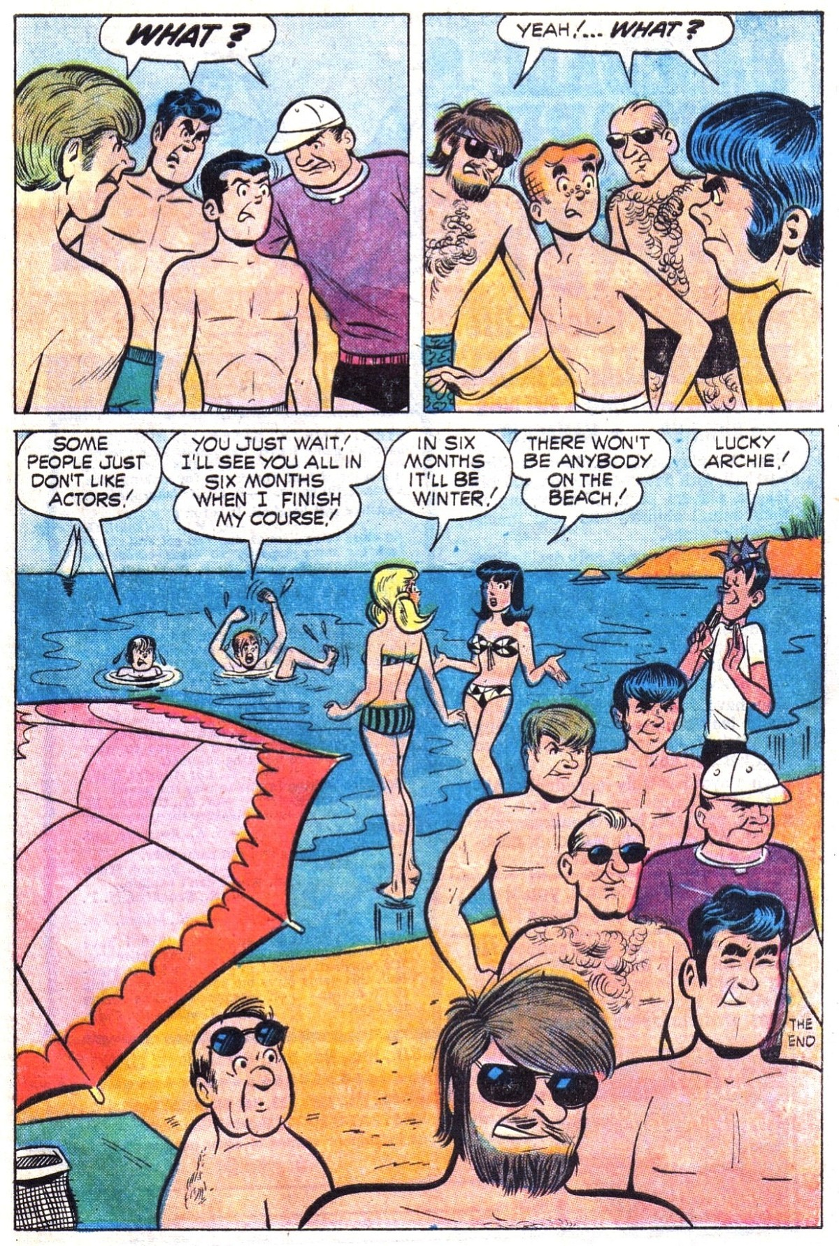 Read online Archie (1960) comic -  Issue #194 - 33