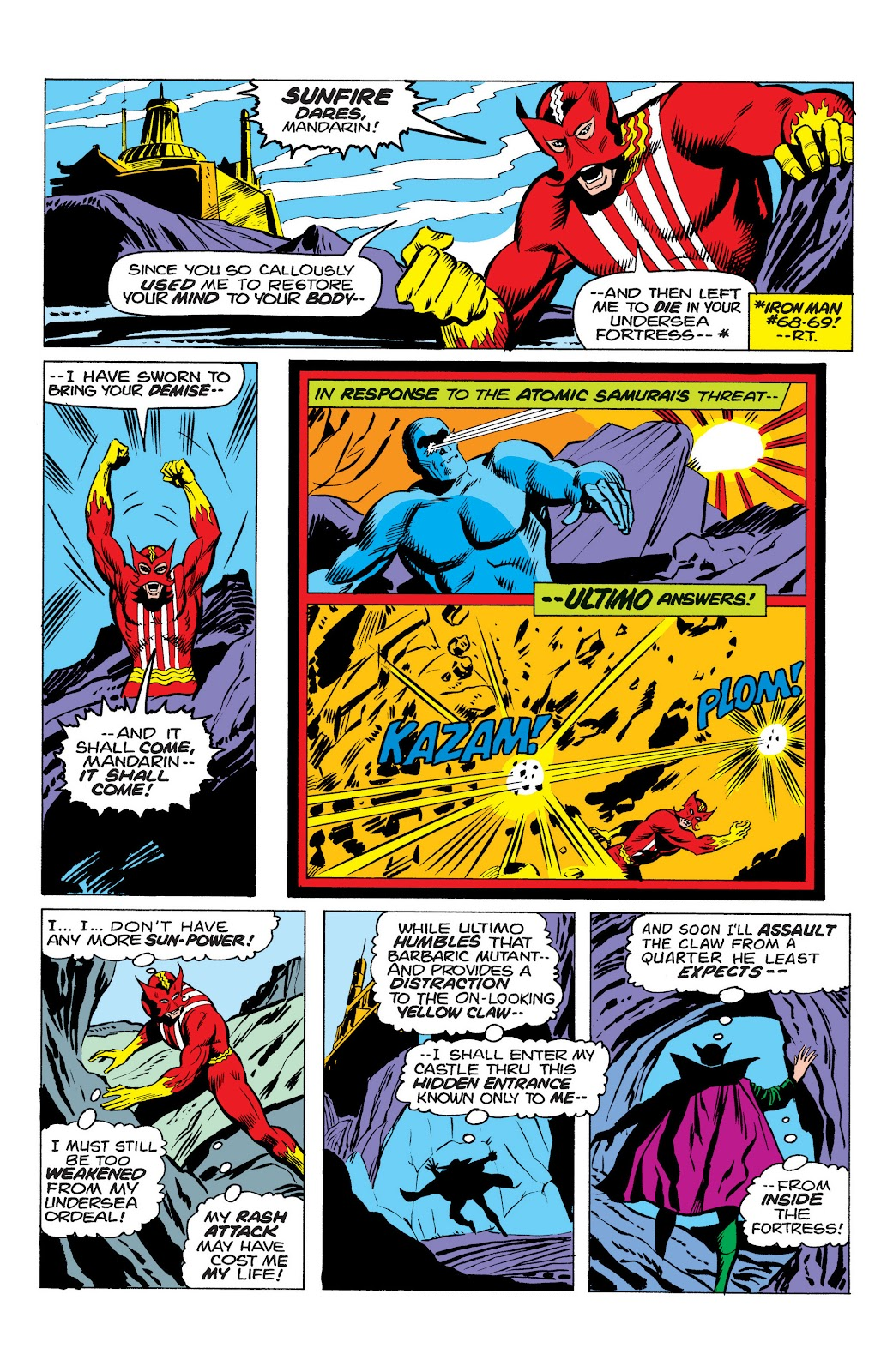 Read online Marvel Masterworks: The Invincible Iron Man comic -  Issue # TPB 10 (Part 1) - 50