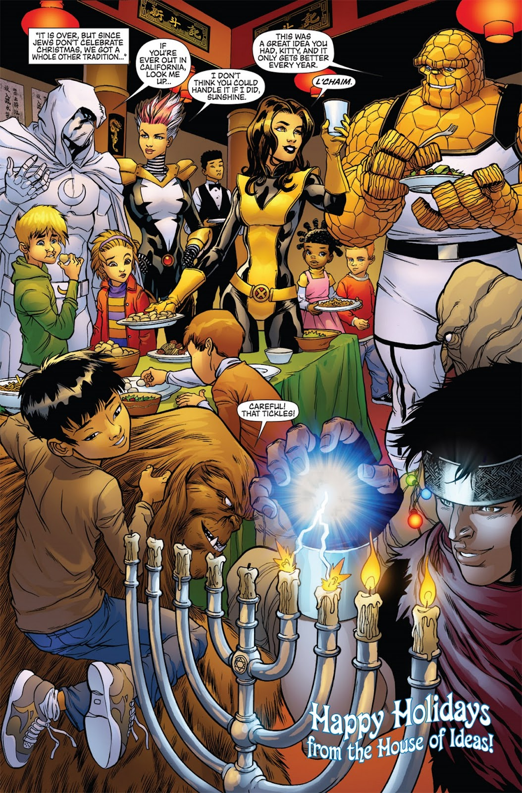 Do Jews Celebrate Christmas.What Jews Do At Christmas Marvel Holiday Special 2011
