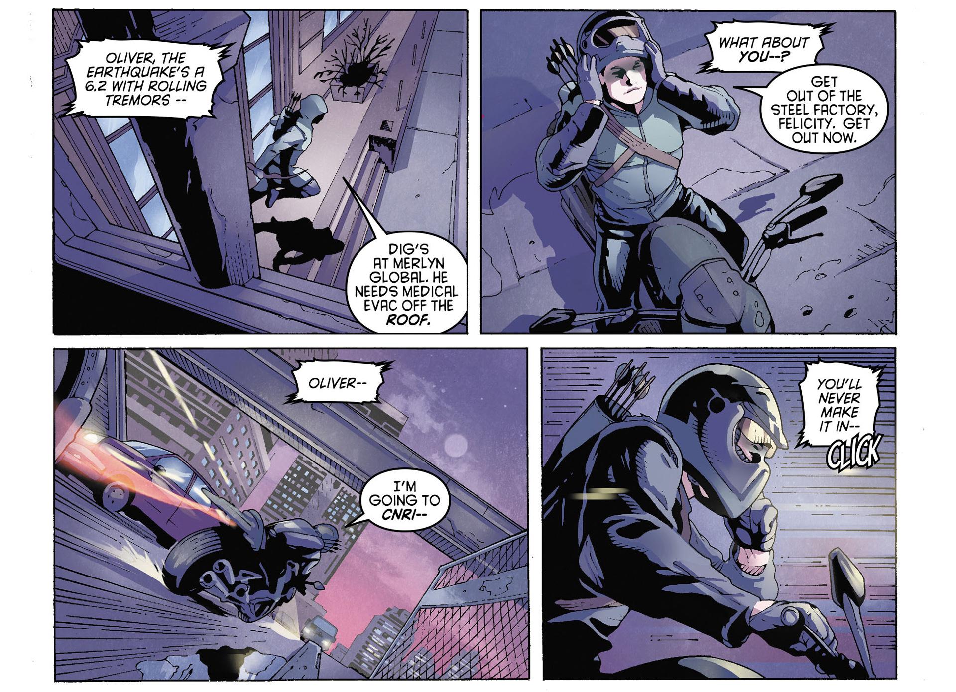 Read online Arrow [II] comic -  Issue #35 - 6