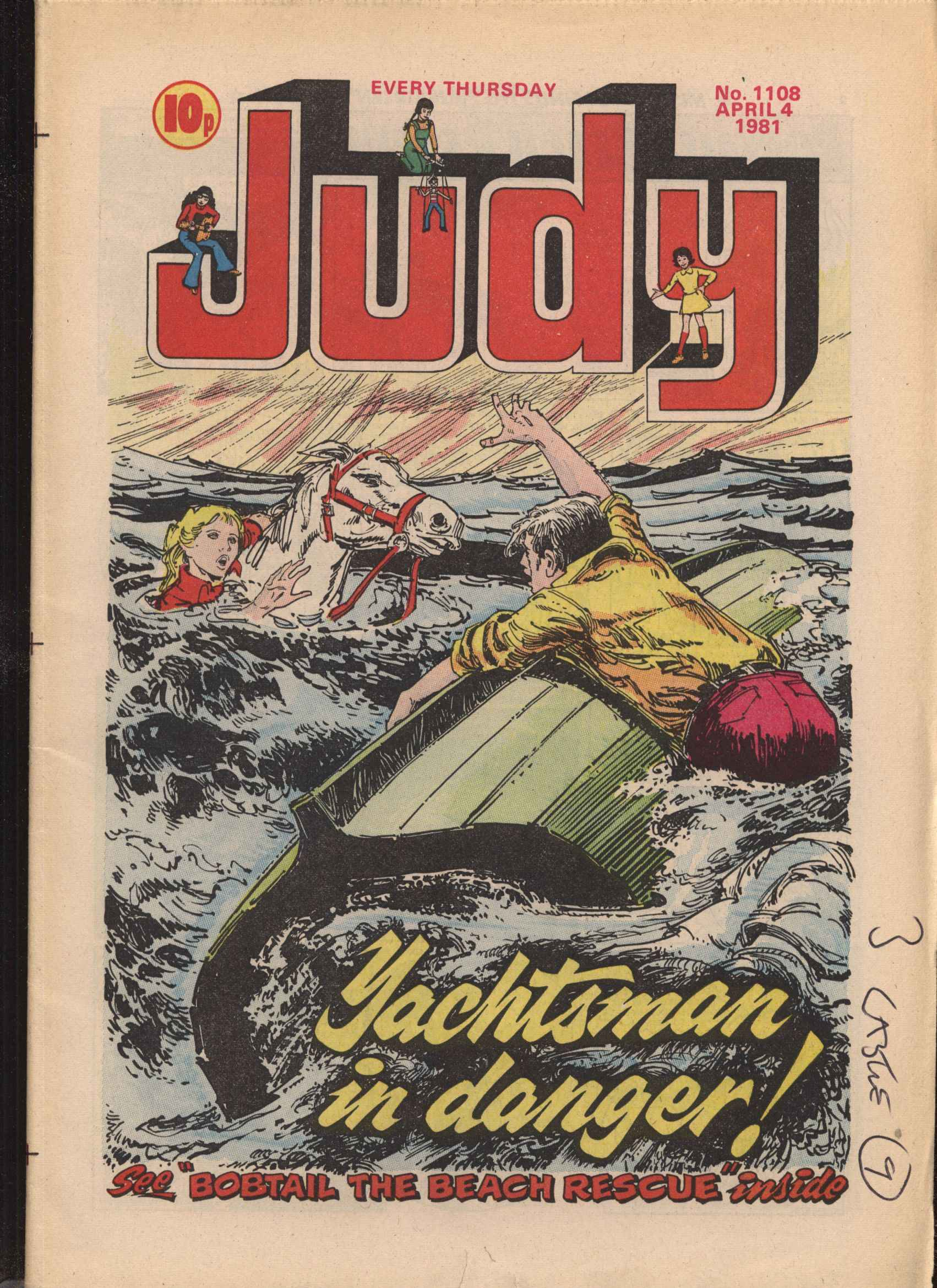 Read online Judy comic -  Issue #1108 - 1